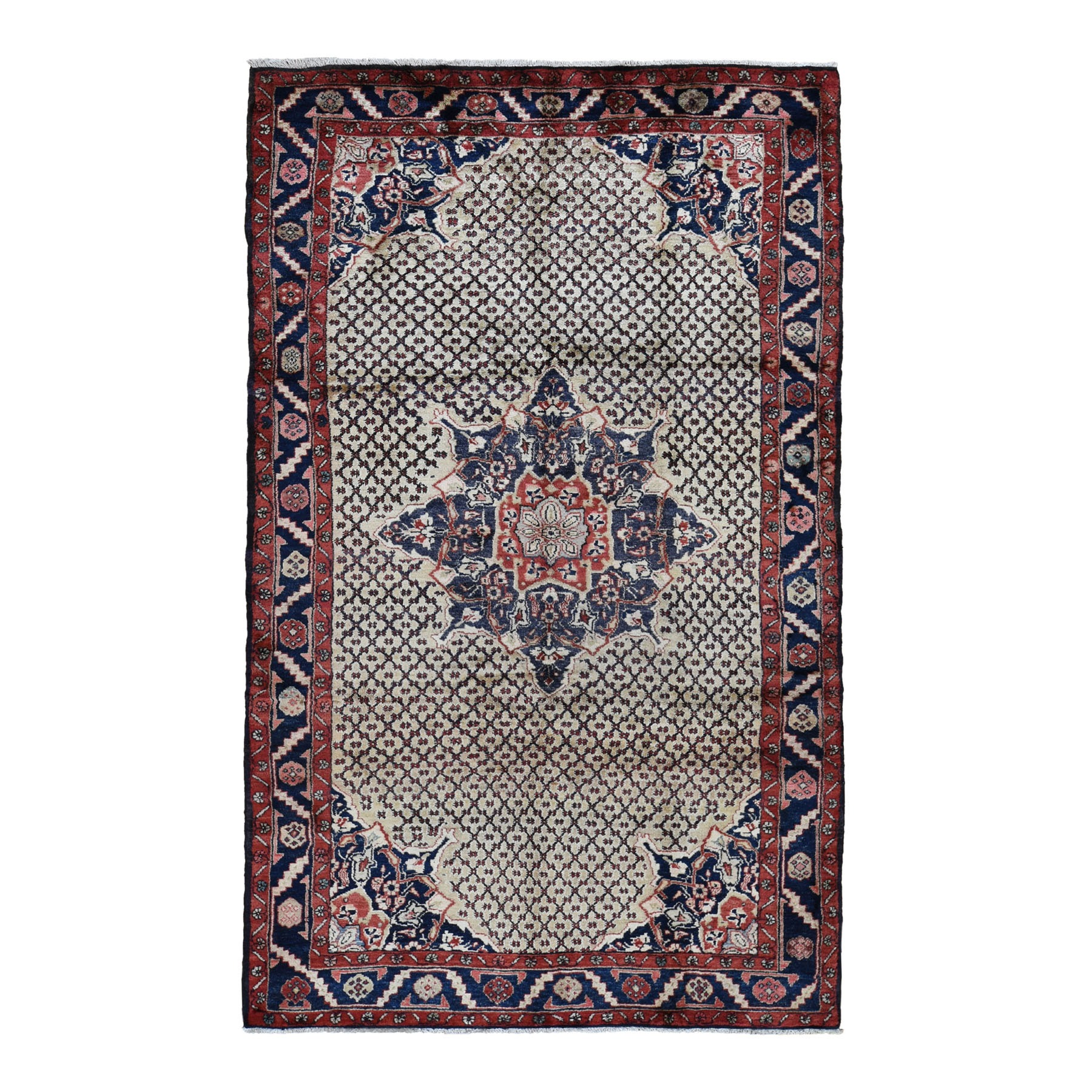 Classic Persian Collection Hand Knotted Beige Rug No: 0194248