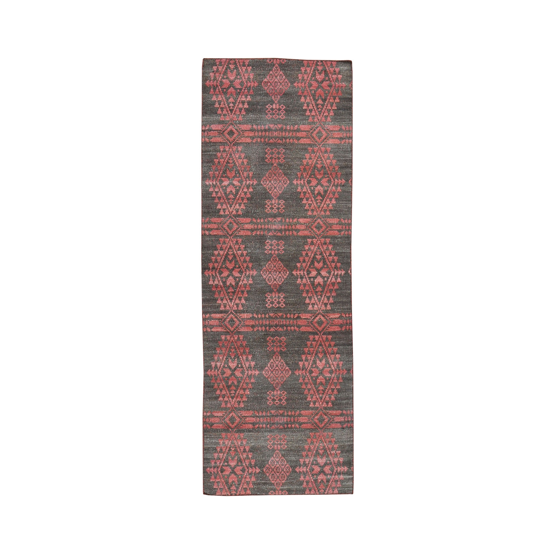 Fine Kilim Collection Hand Woven Red Rug No: 0194922
