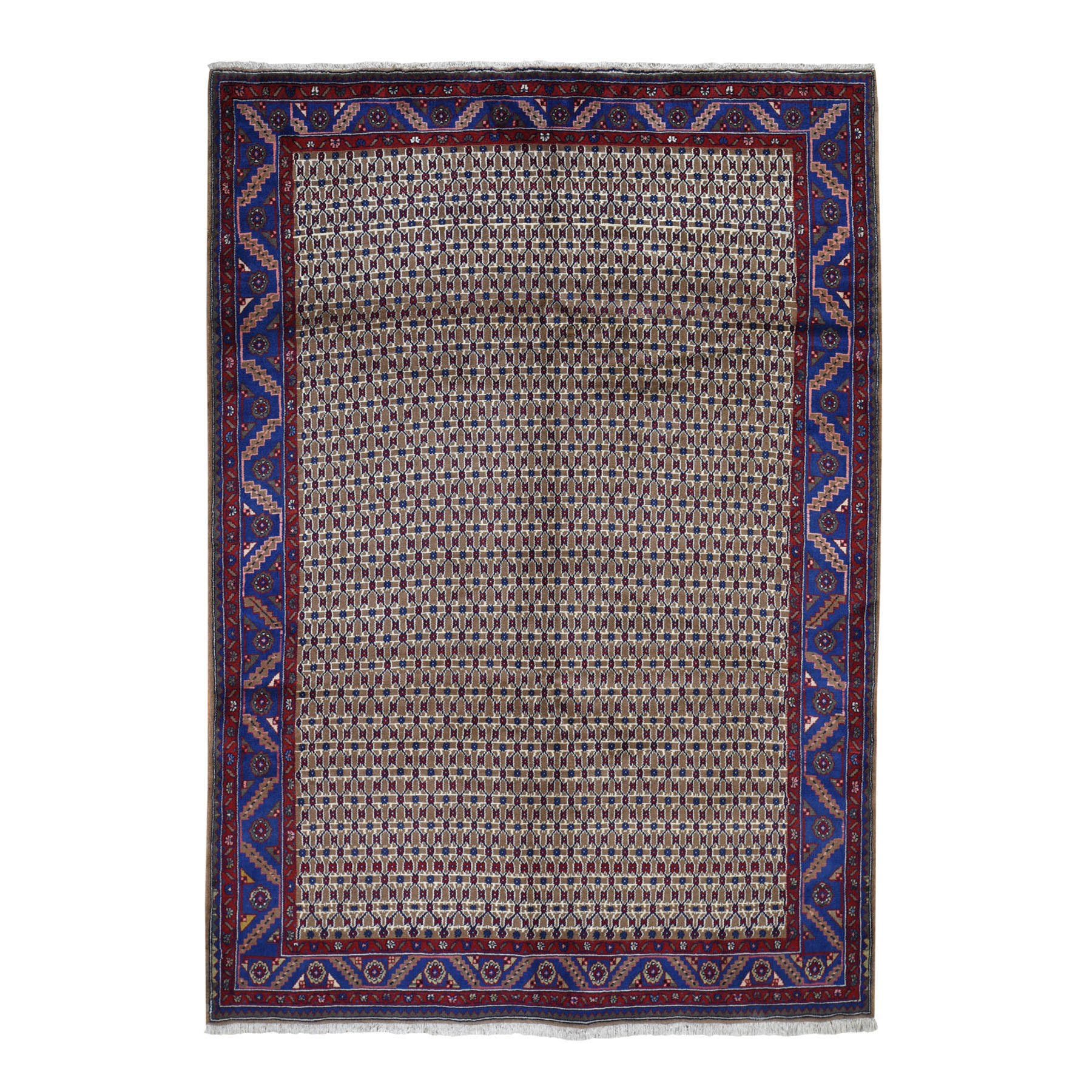 Classic Persian Collection Hand Knotted Brown Rug No: 0194980
