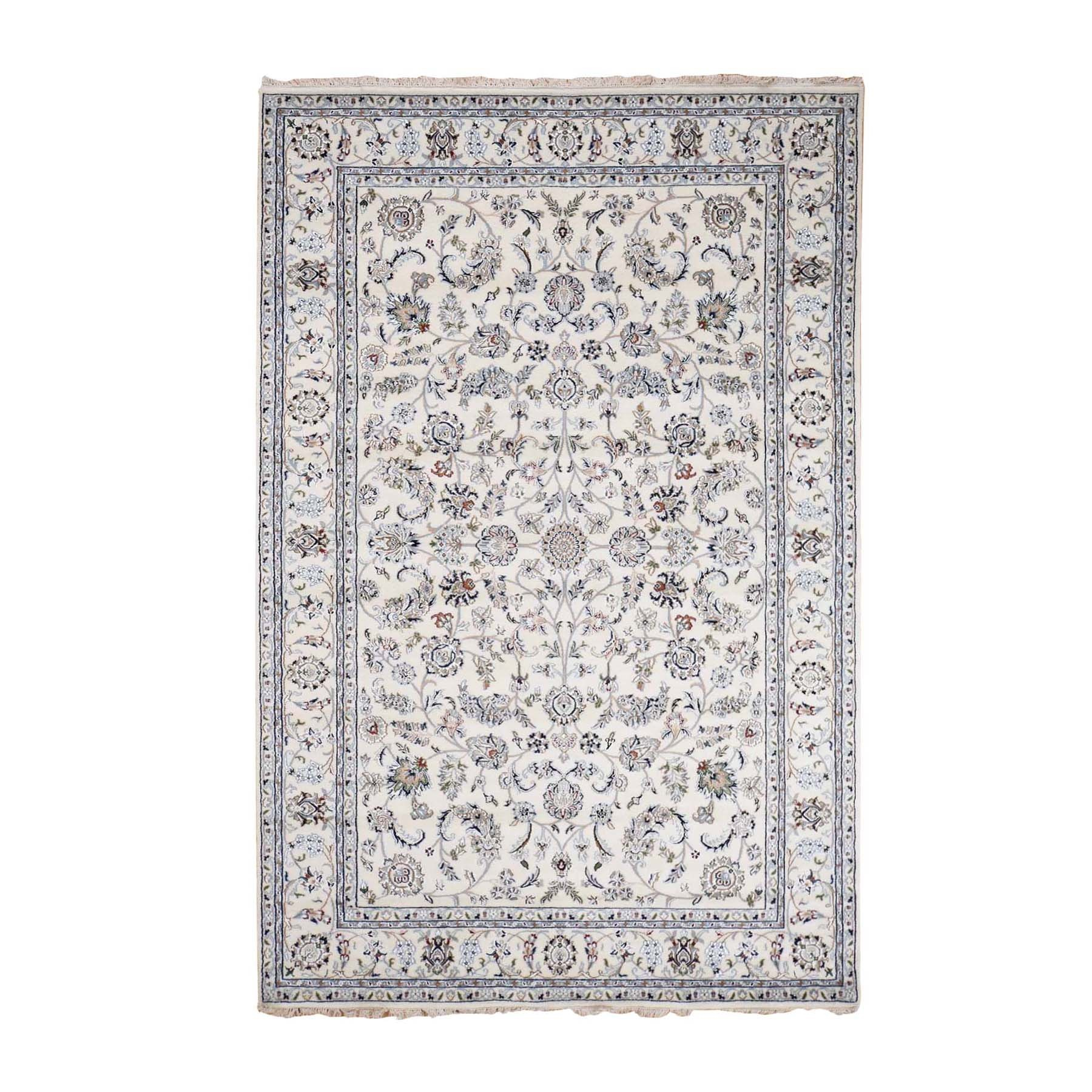 Pirniakan Collection Hand Knotted Ivory Rug No: 0195276