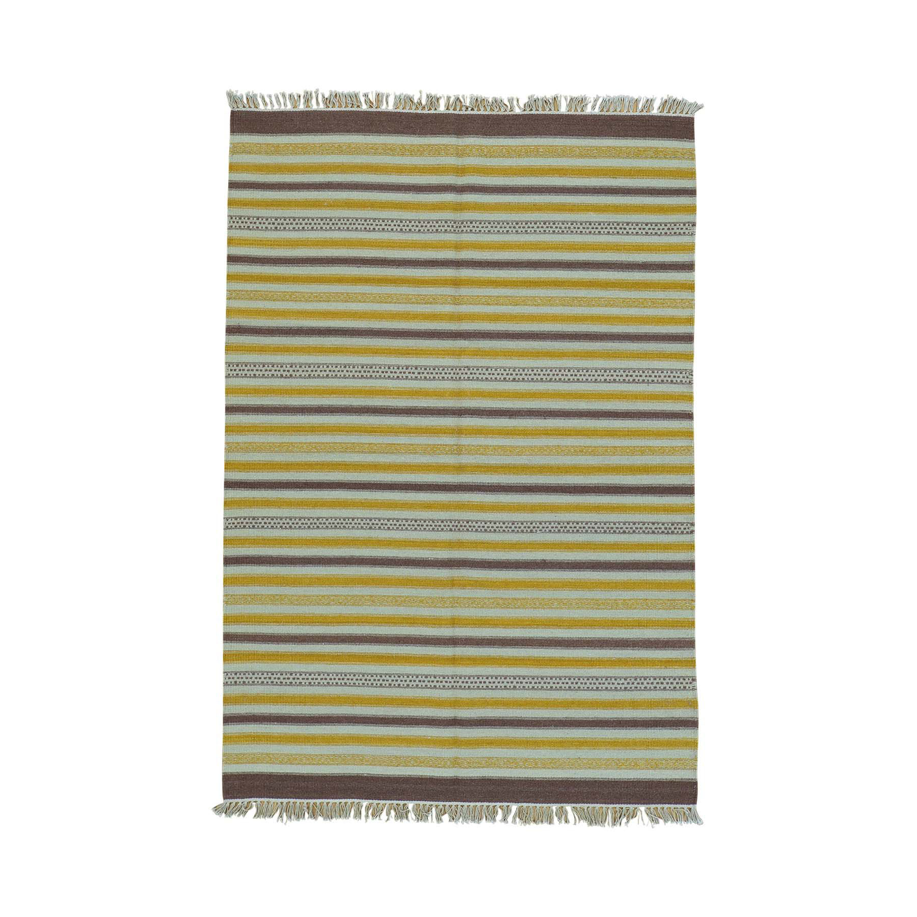 Fine Kilim Collection Hand Woven Multicolored Rug No: 0160112