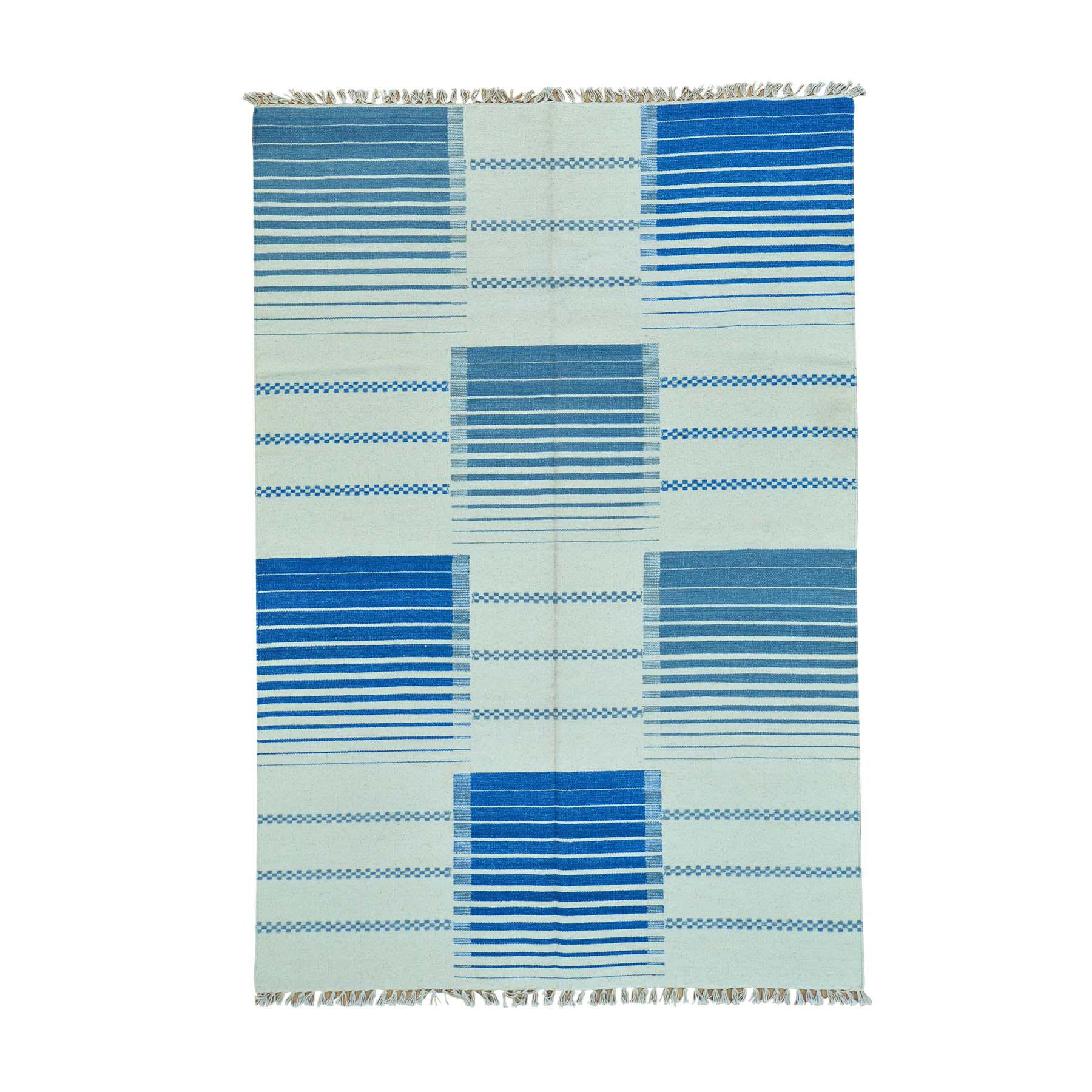 Fine Kilim Collection Hand Woven Multicolored Rug No: 0160128