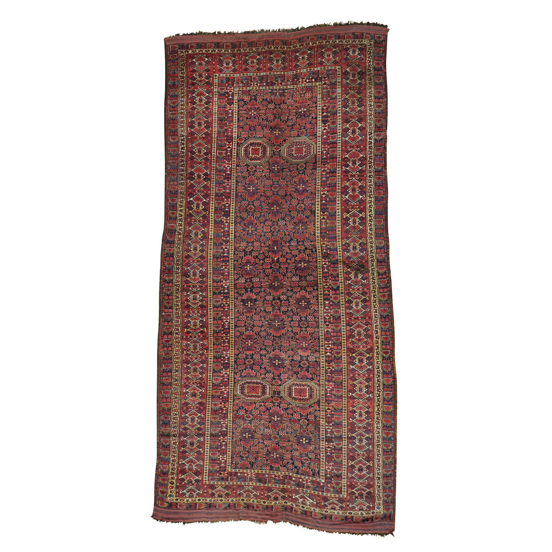 Antique Collection Hand Knotted Blue Rug No: 156474