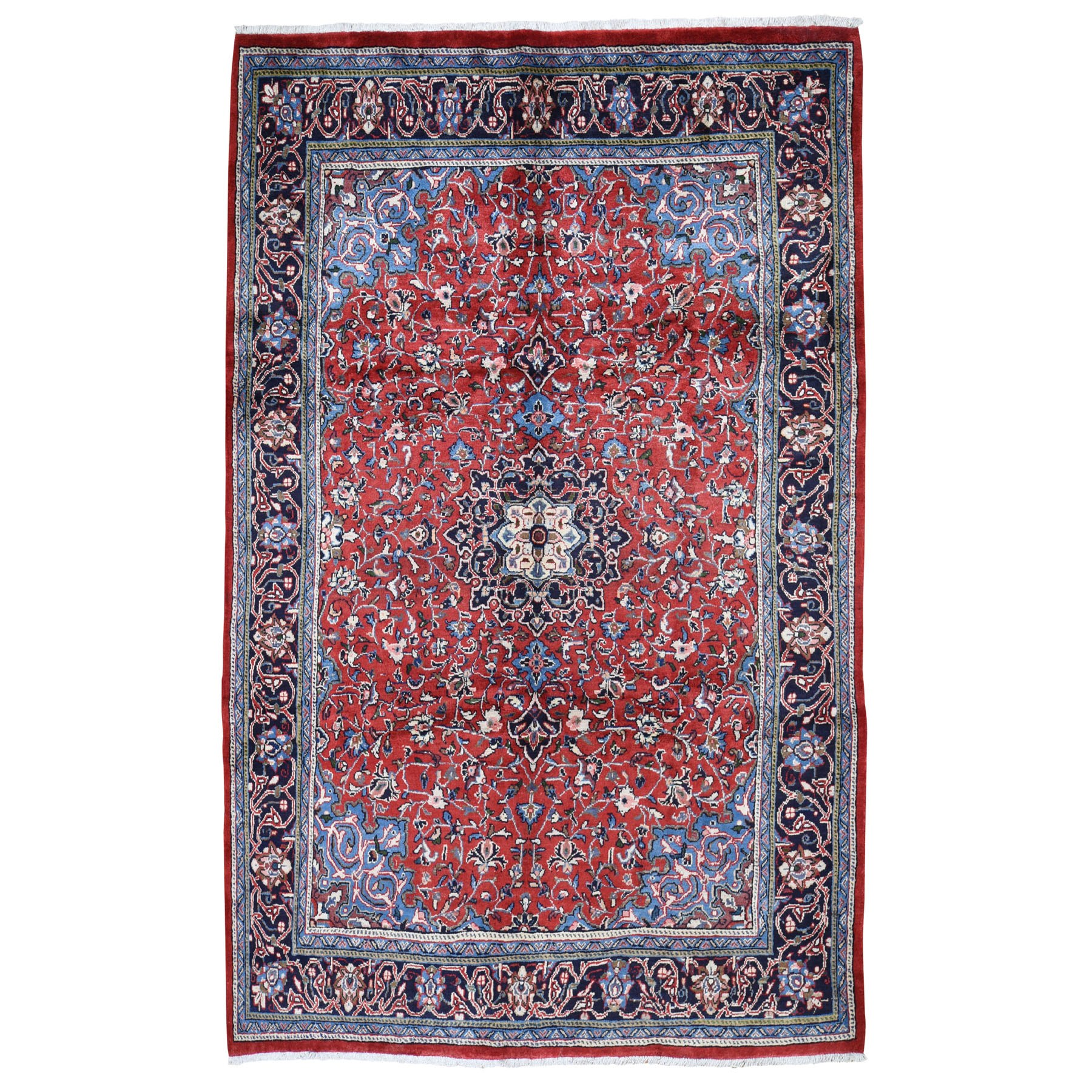 Classic Persian Collection Hand Knotted Red Rug No: 0195014