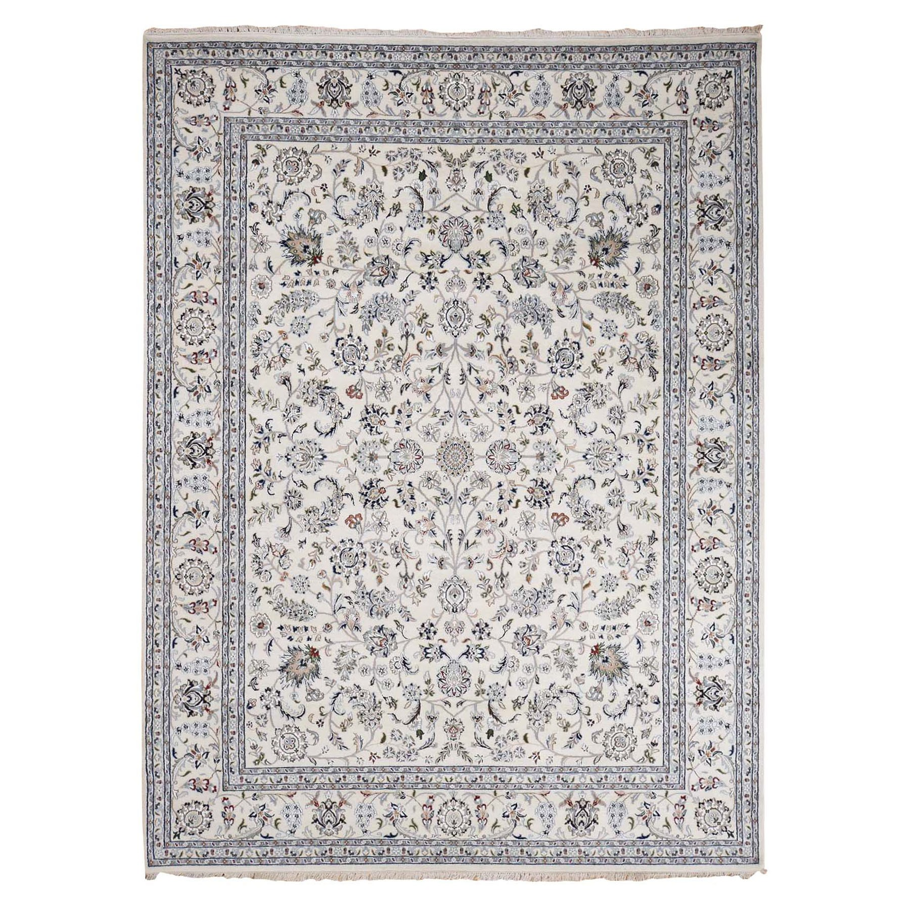 Pirniakan Collection Hand Knotted Ivory Rug No: 0195338