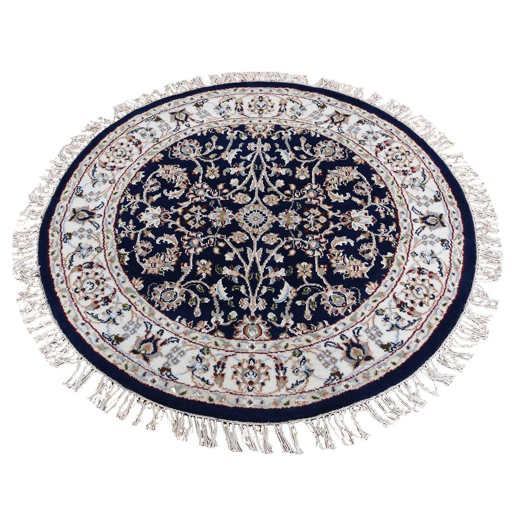 Pirniakan Collection Hand Knotted Blue Rug No: 0195424