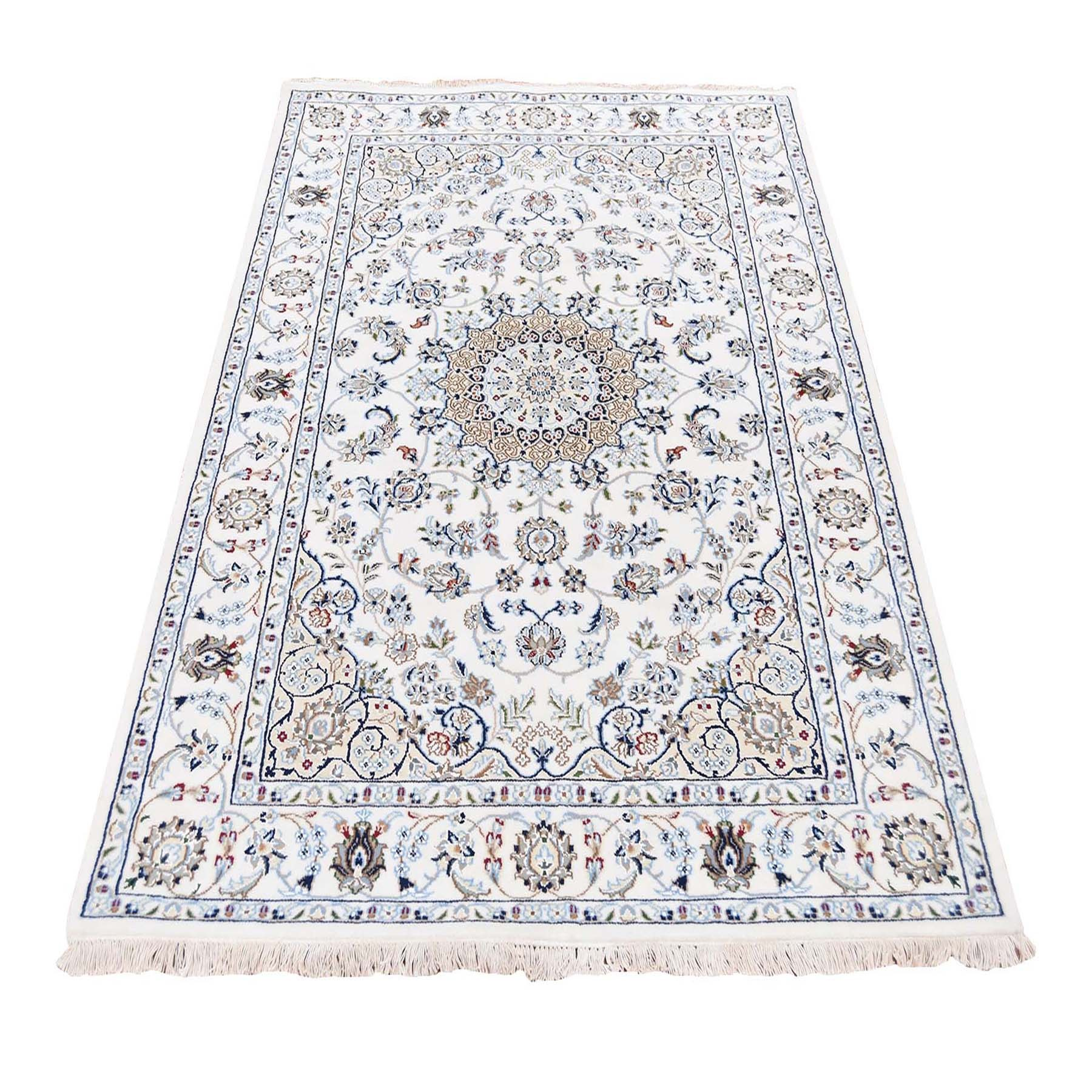 Pirniakan Collection Hand Knotted Ivory Rug No: 0195440