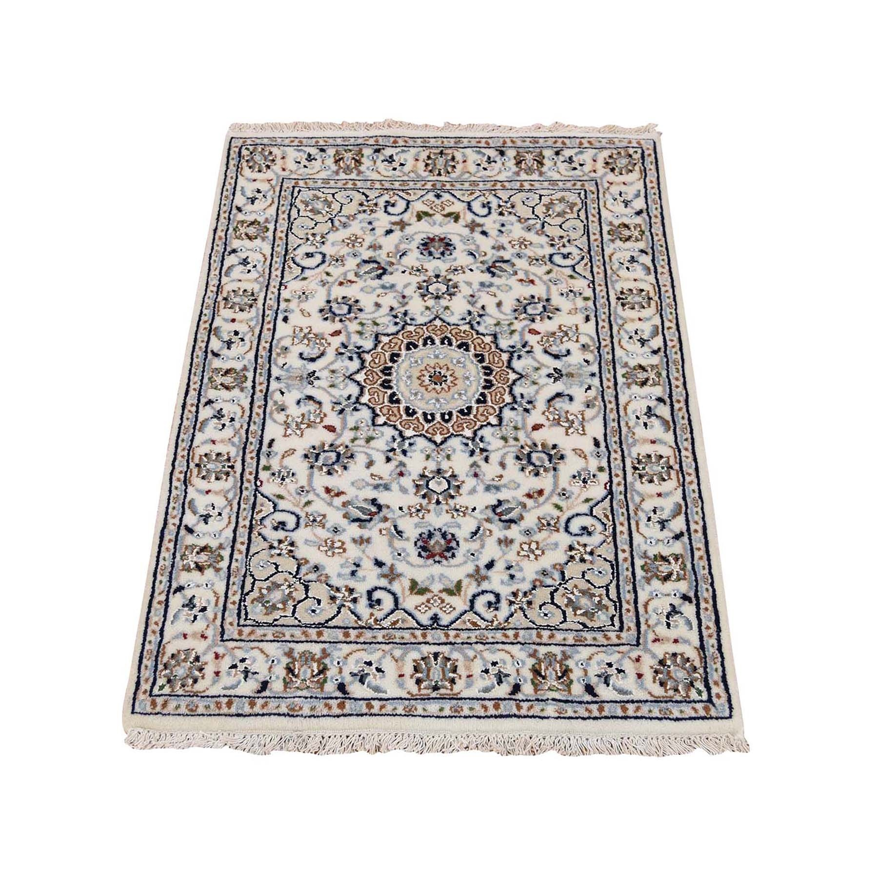 Pirniakan Collection Hand Knotted Ivory Rug No: 0195442