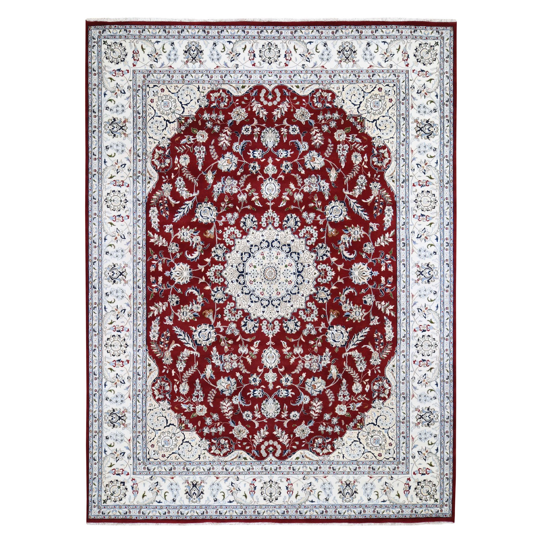Pirniakan Collection Hand Knotted Red Rug No: 0195624