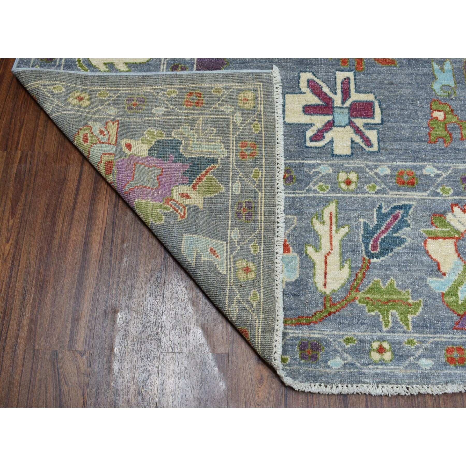 Agra And Turkish Collection Hand Knotted Grey 01105306 Rug