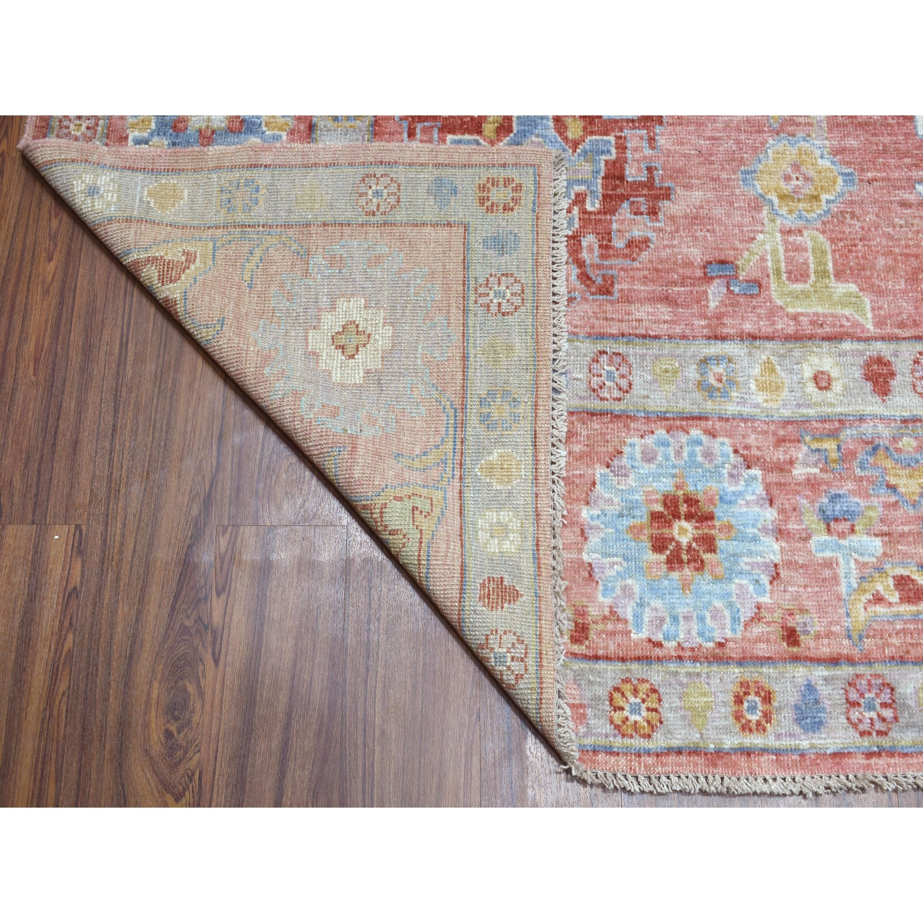 Agra And Turkish Collection Hand Knotted Pink 01105398 Rug