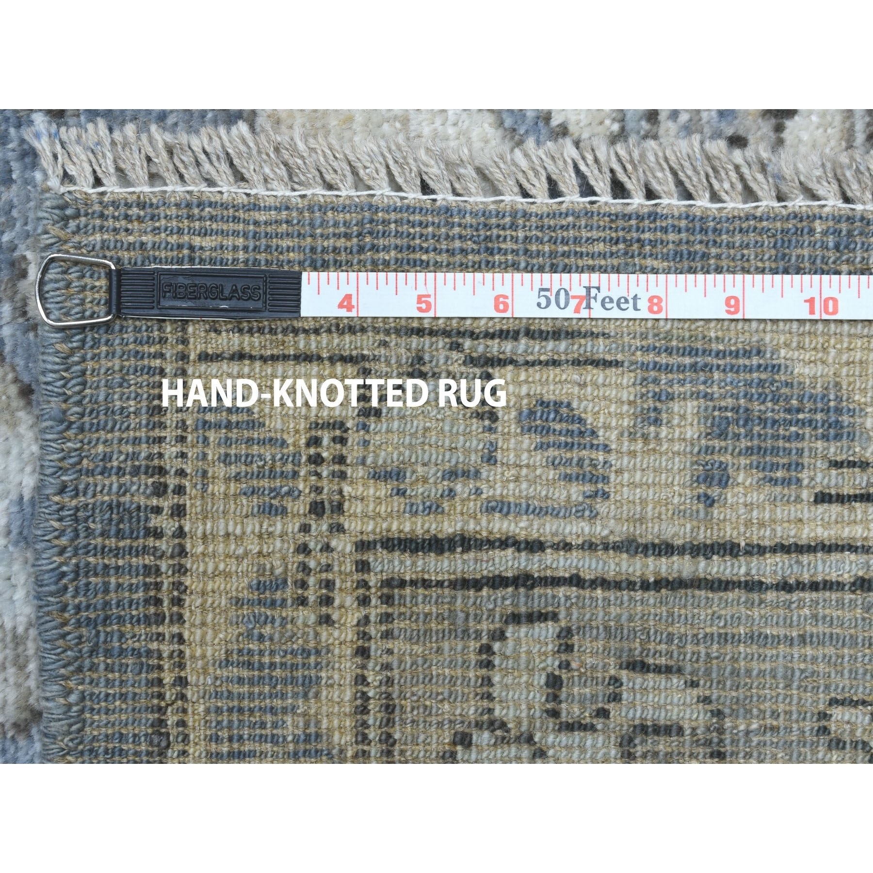 Agra And Turkish Collection Hand Knotted Grey 01105406 Rug