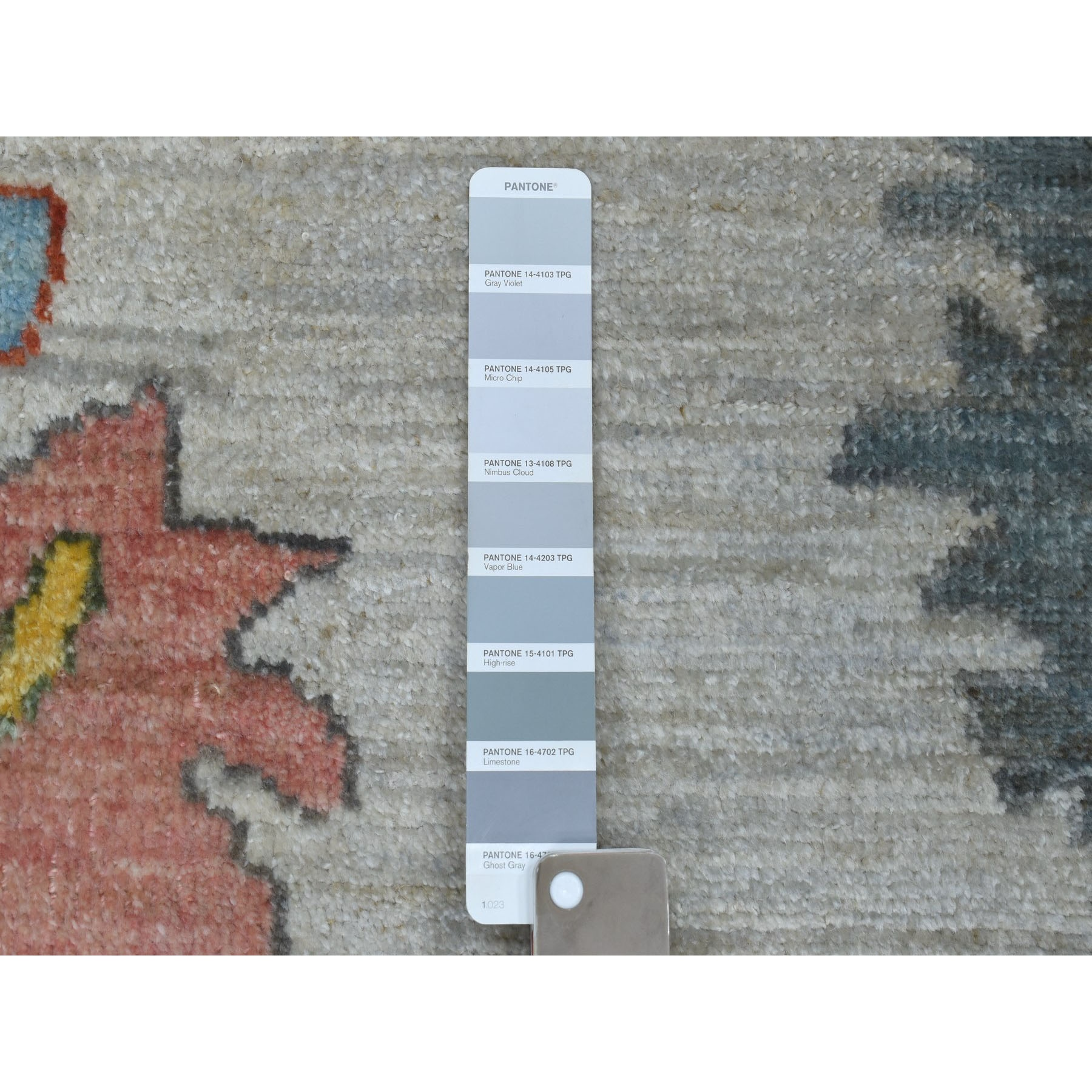 Agra And Turkish Collection Hand Knotted Grey 01105416 Rug