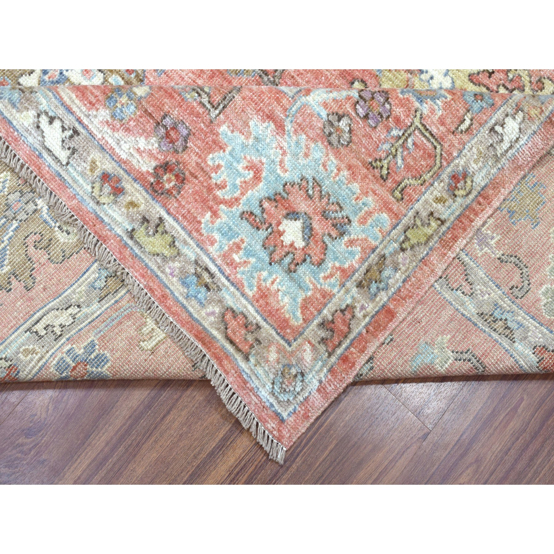 Agra And Turkish Collection Hand Knotted Pink 01105420 Rug