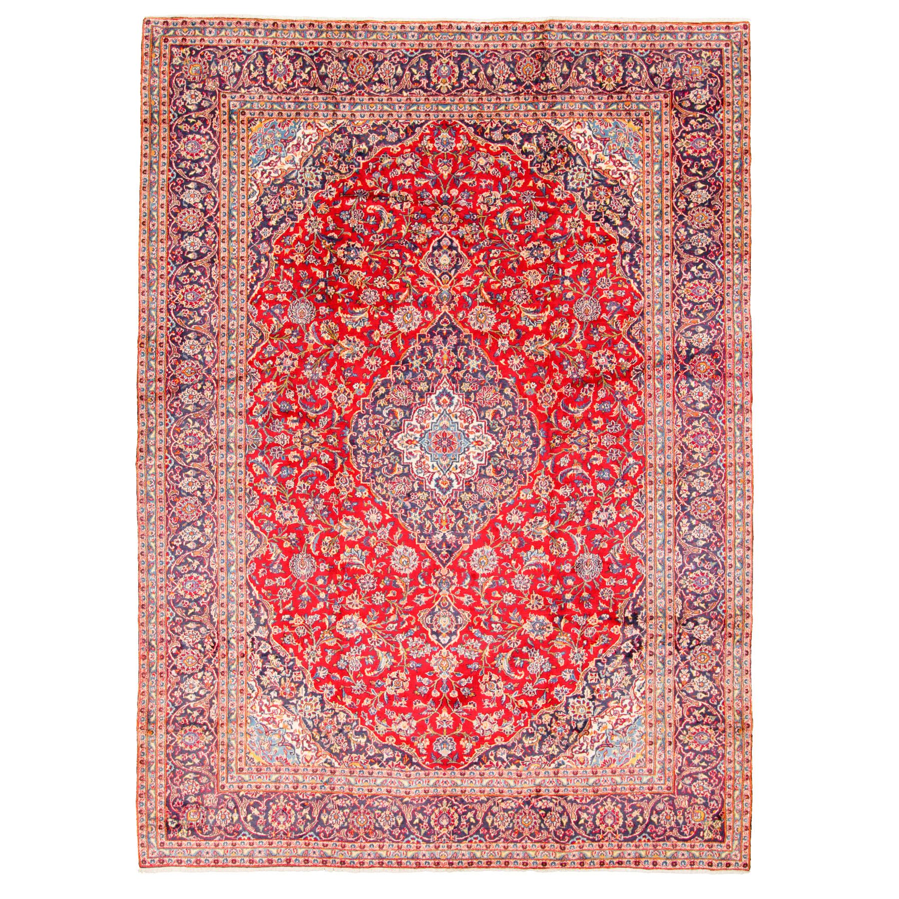 Classic Persian Collection Hand Knotted Red Rug No: 0195758