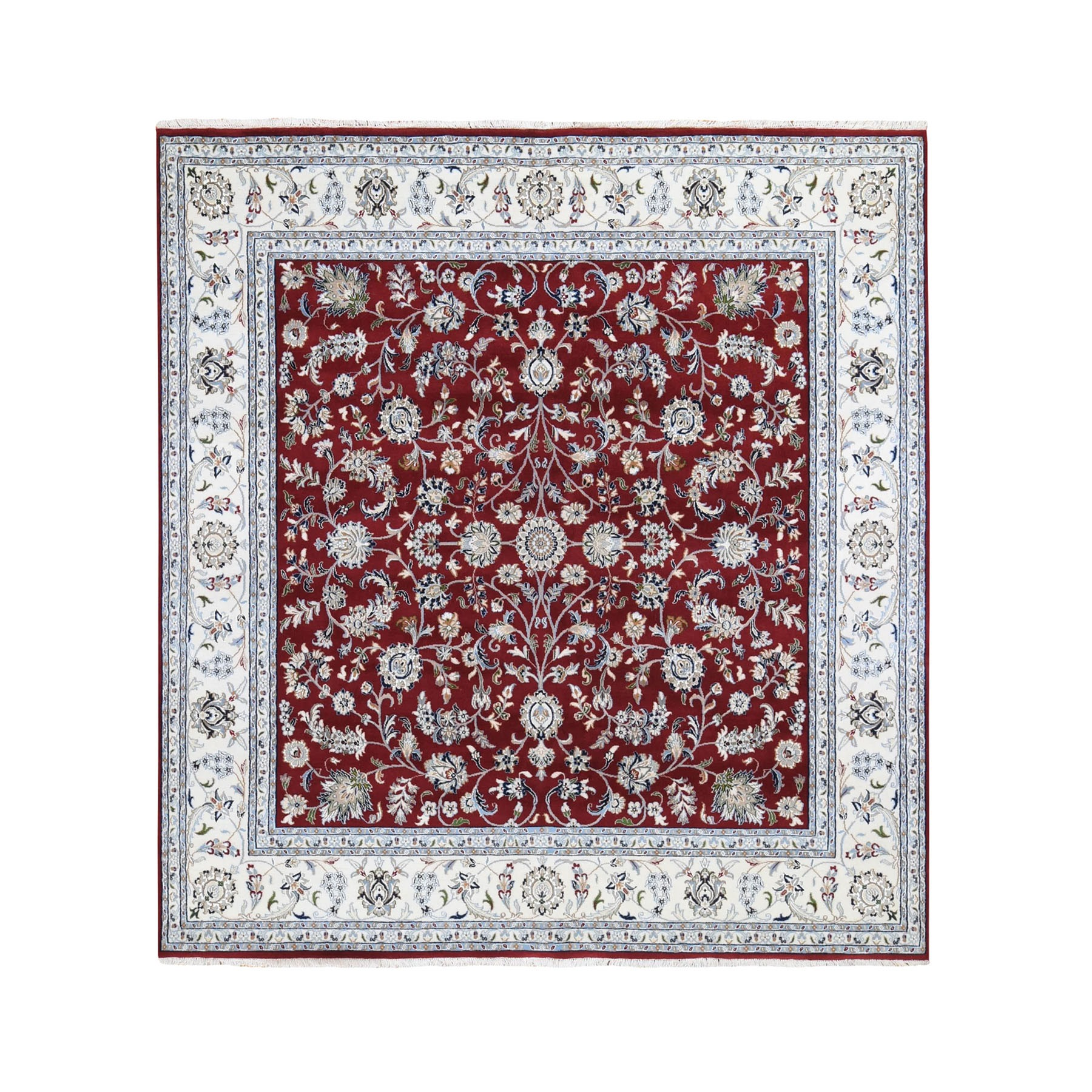 Pirniakan Collection Hand Knotted Red Rug No: 195656