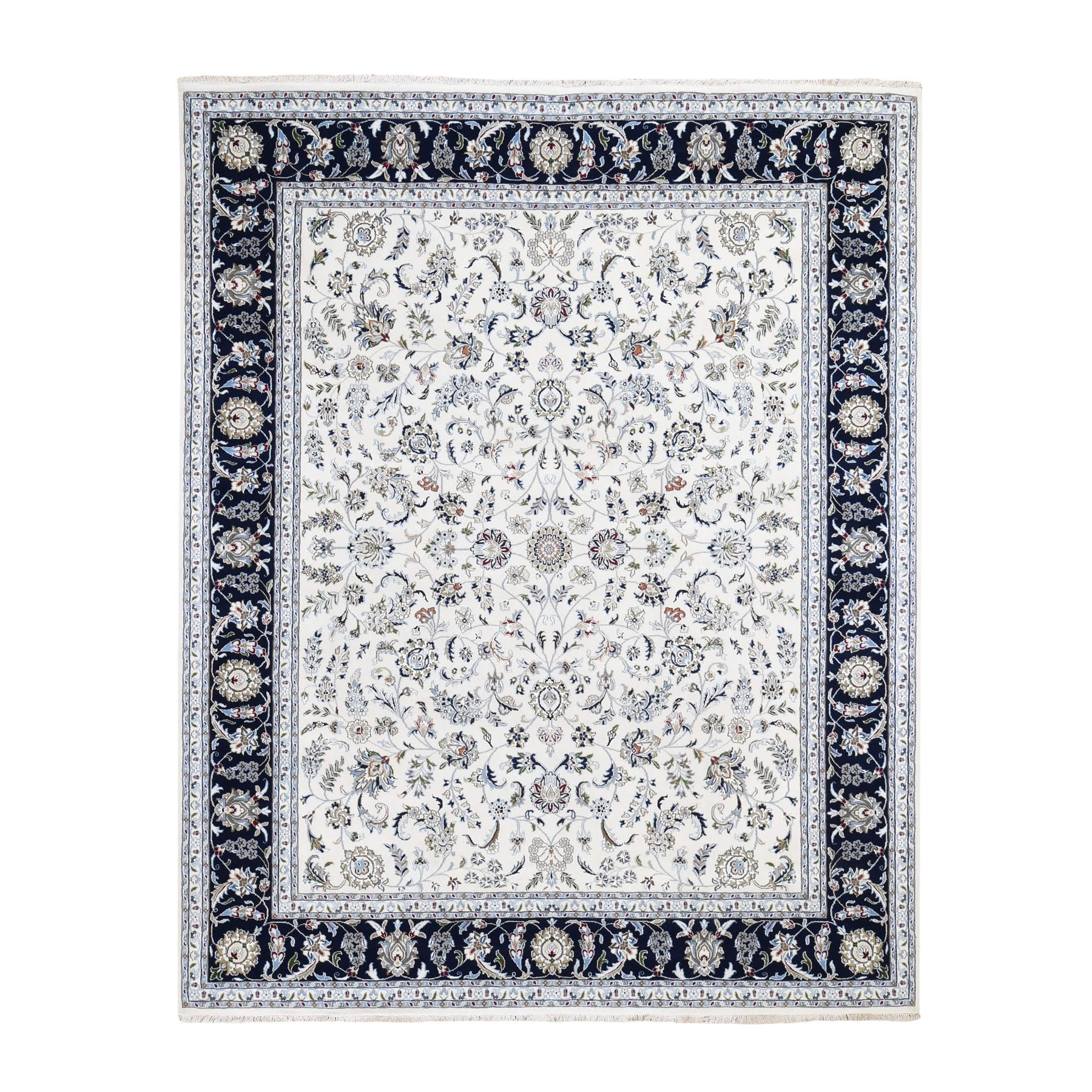 Pirniakan Collection Hand Knotted Ivory Rug No: 0195658