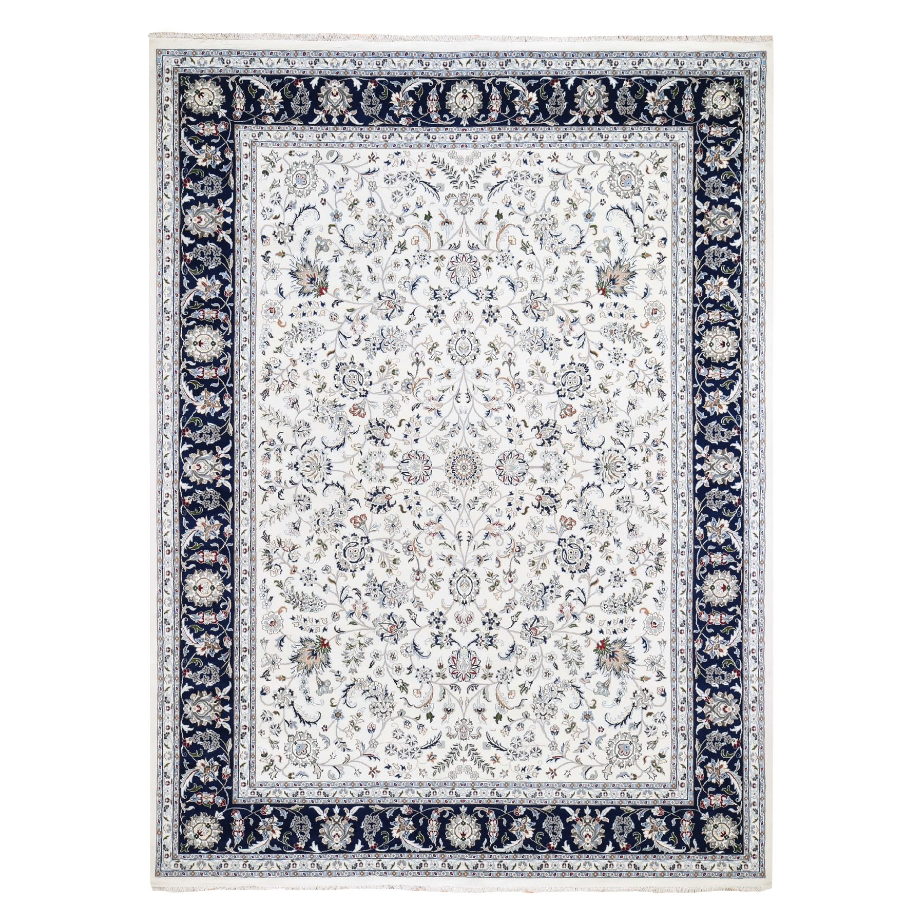 Pirniakan Collection Hand Knotted Ivory Rug No: 0195660