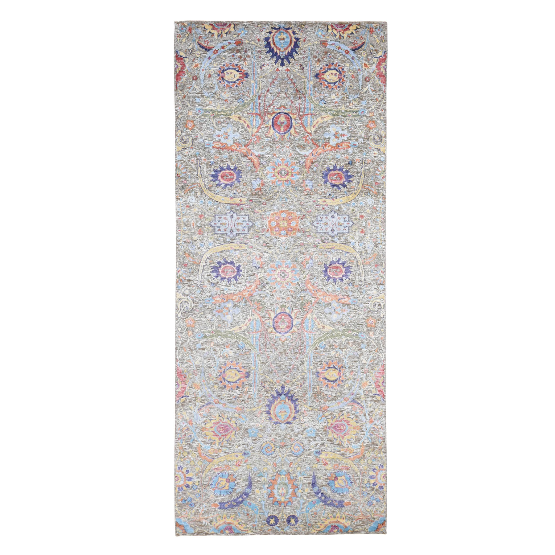 Pirniakan Collection Hand Knotted Brown Rug No: 0195772