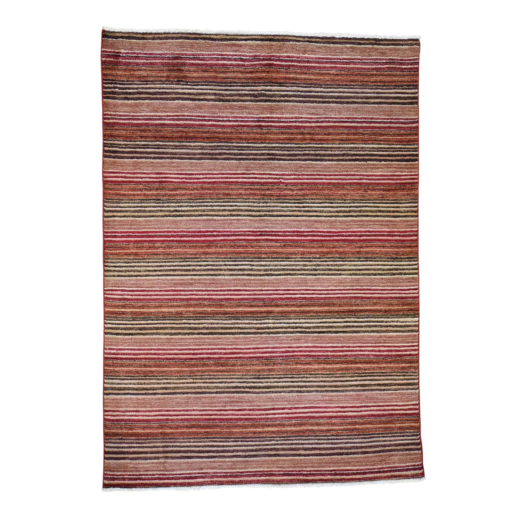 Deep discounted Collection Hand Knotted Red Rug No: 190110