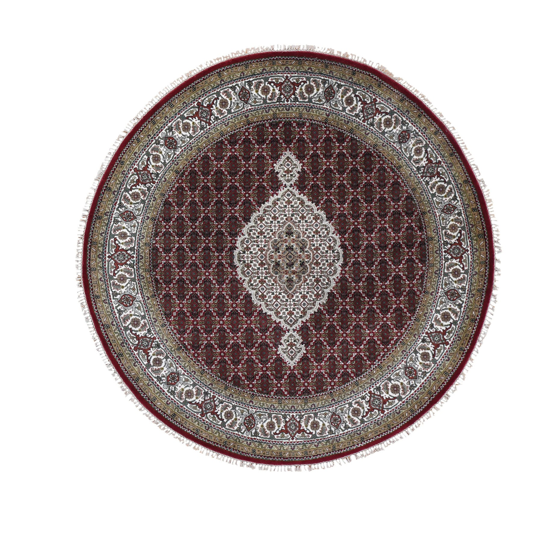 Pirniakan Collection Hand Knotted Red Rug No: 196170