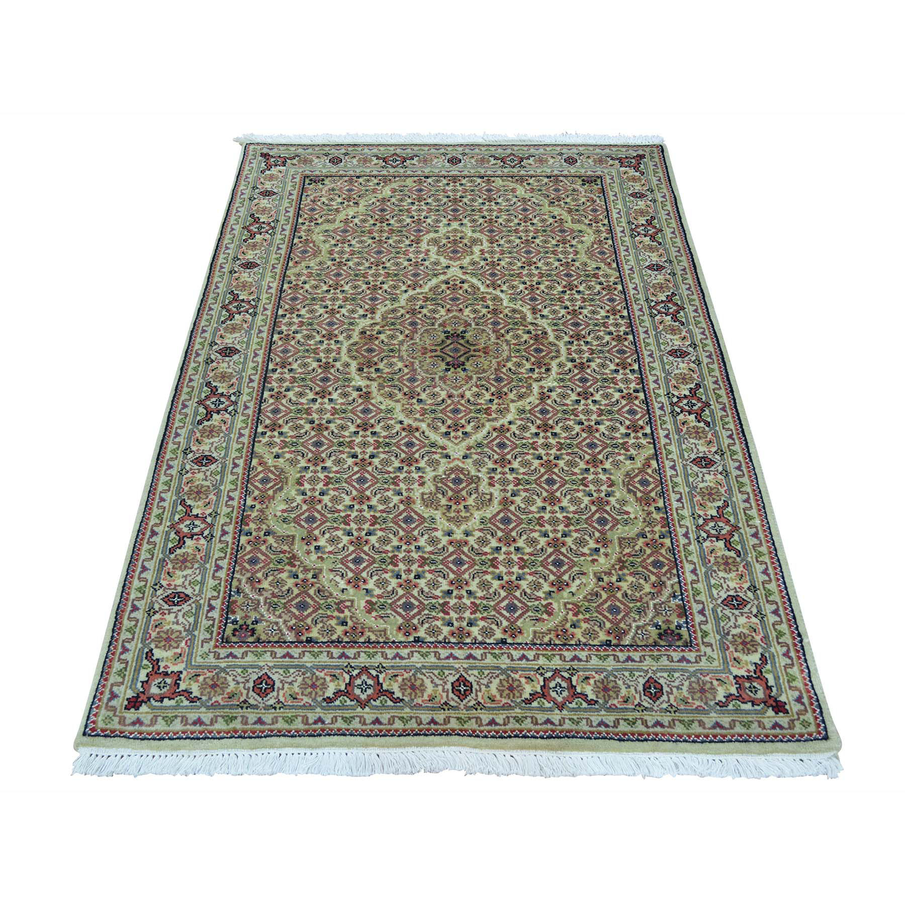 Pirniakan Collection Hand Knotted Ivory Rug No: 153130