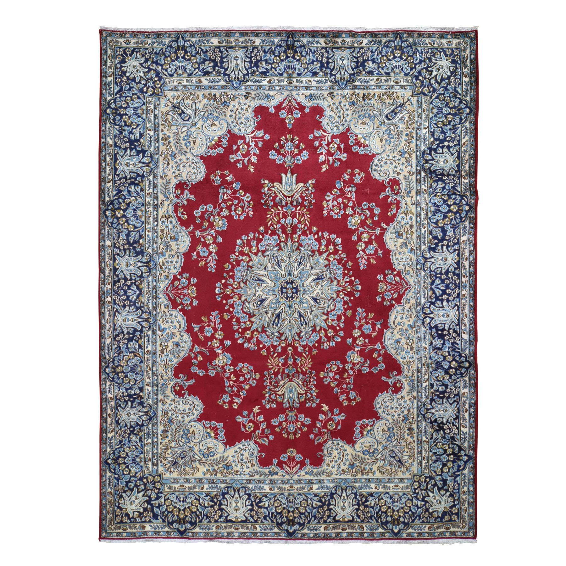 Classic Persian Collection Hand Knotted Red Rug No: 0196246