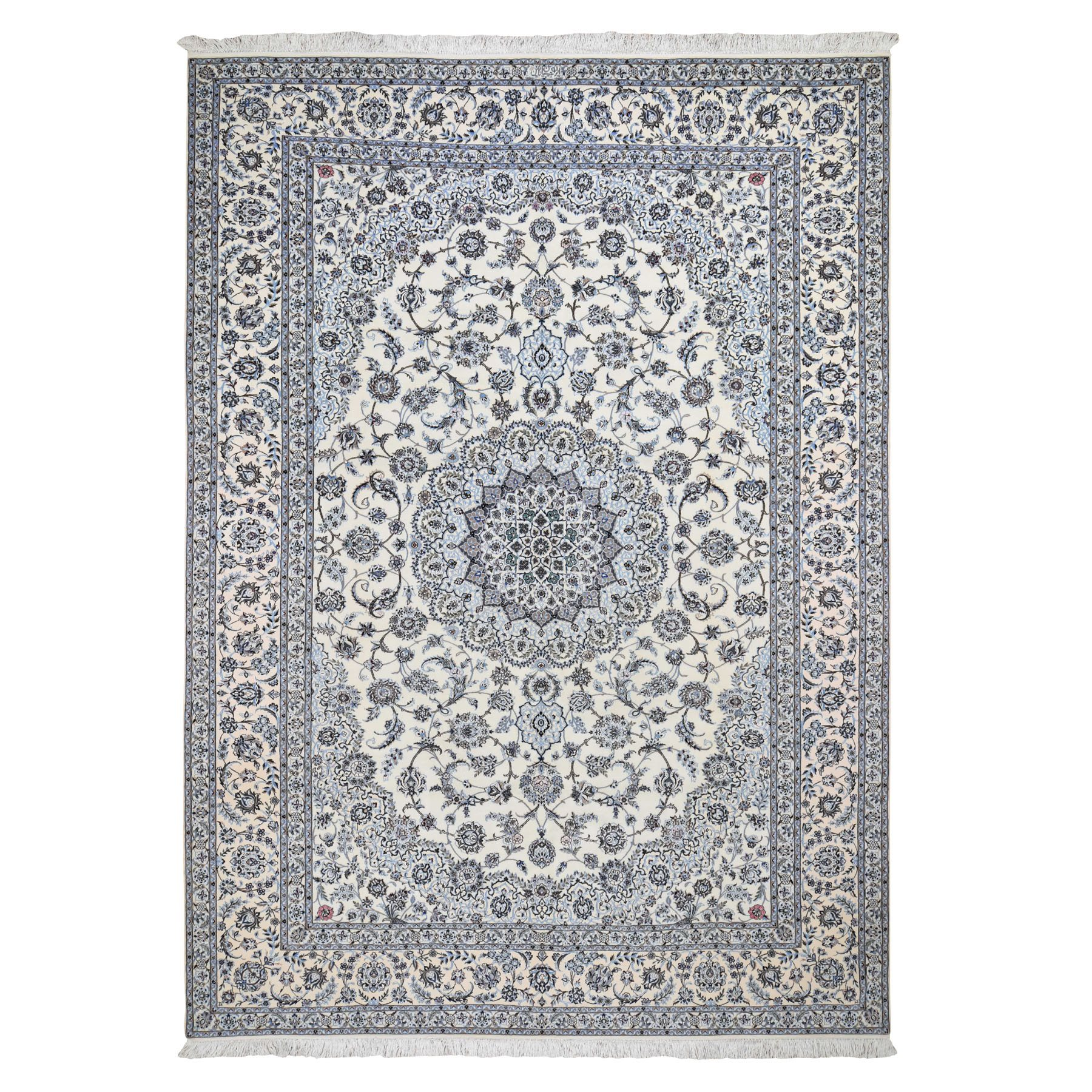 Pirniakan Collection Hand Knotted Ivory Rug No: 0196384
