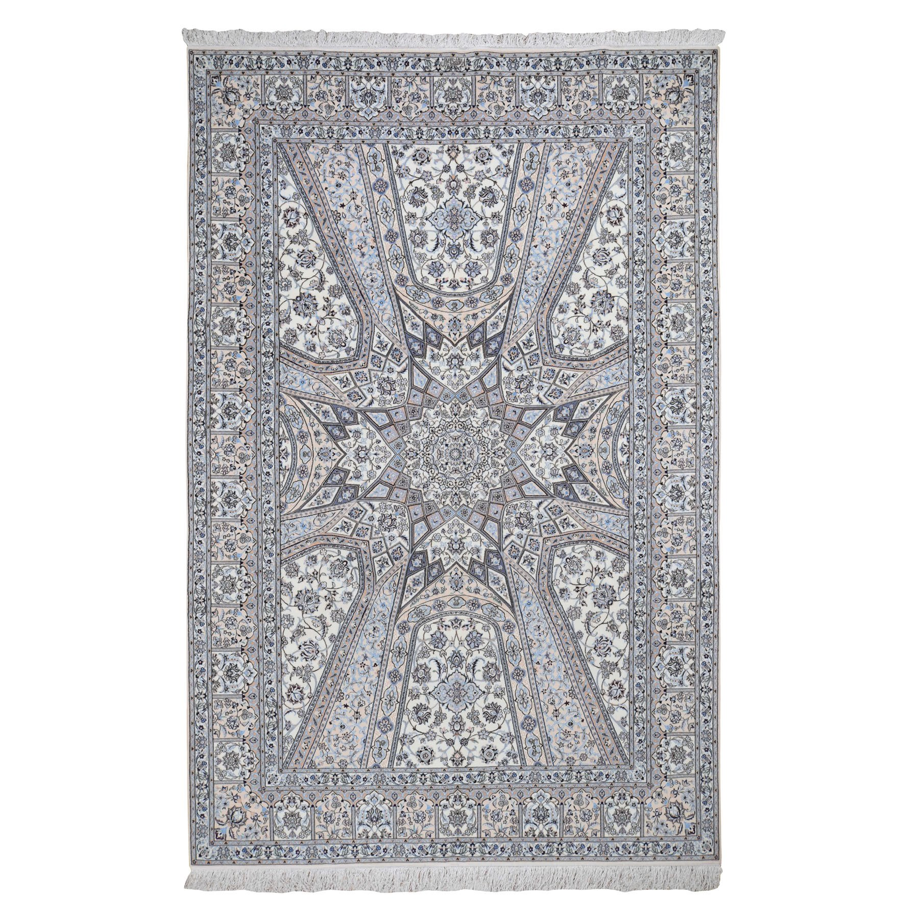 Pirniakan Collection Hand Knotted Ivory Rug No: 0196392