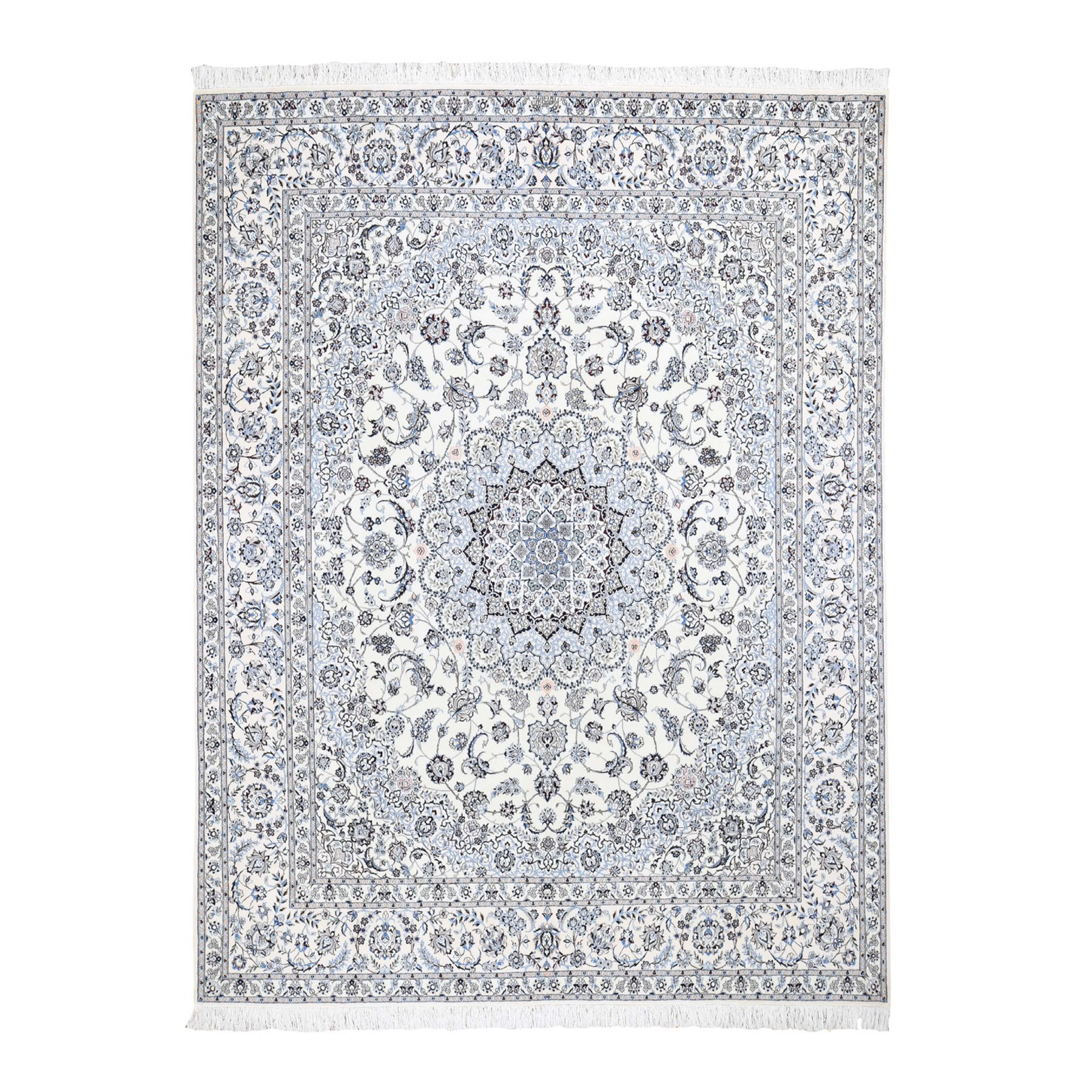 Pirniakan Collection Hand Knotted Ivory Rug No: 0196394