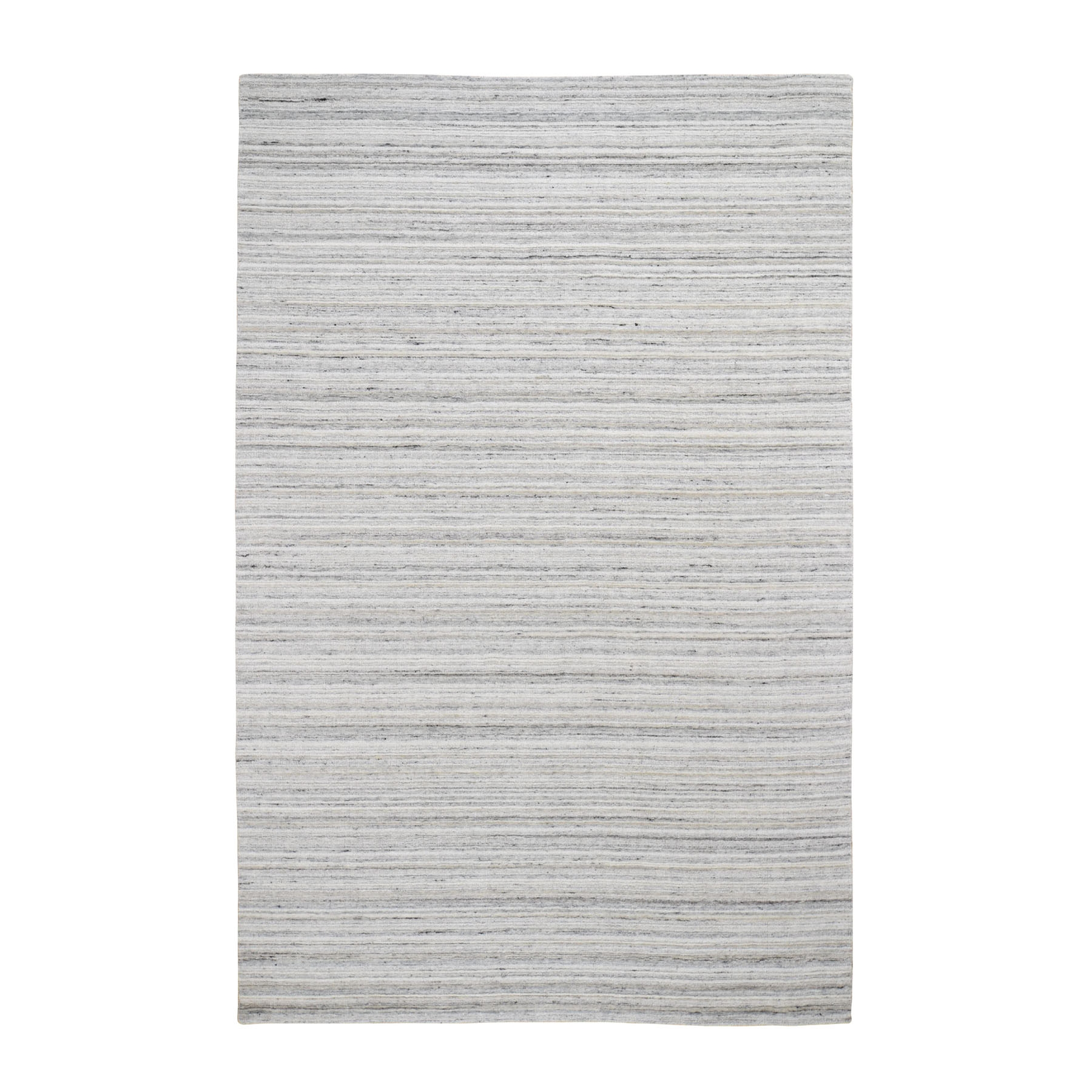 Modern Collection Hand Loomed Ivory Rug No: 0196542