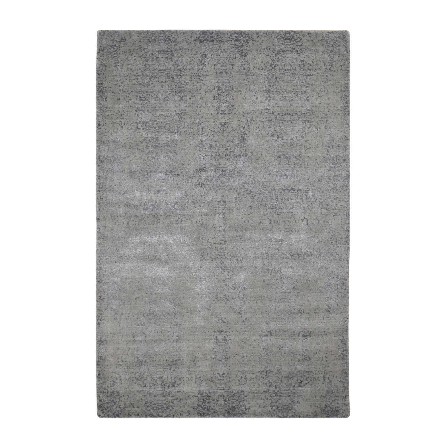 Modern Collection Hand Loomed Grey Rug No: 0196548
