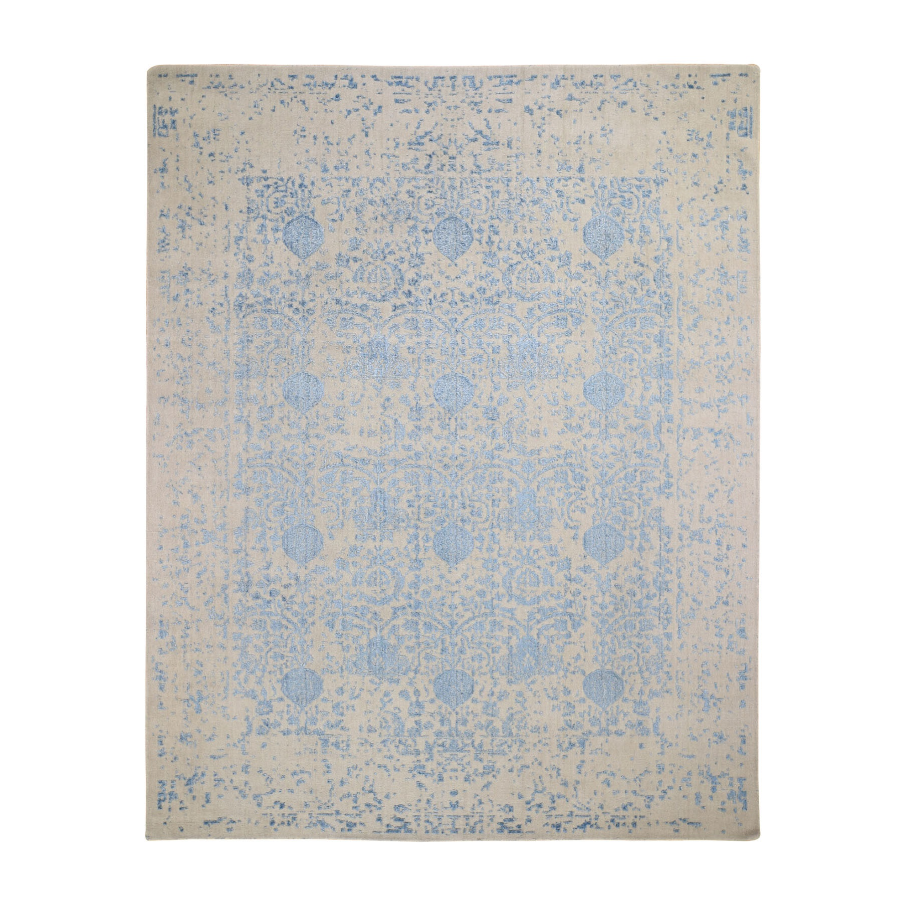 Modern Collection Hand Loomed Ivory Rug No: 0196560