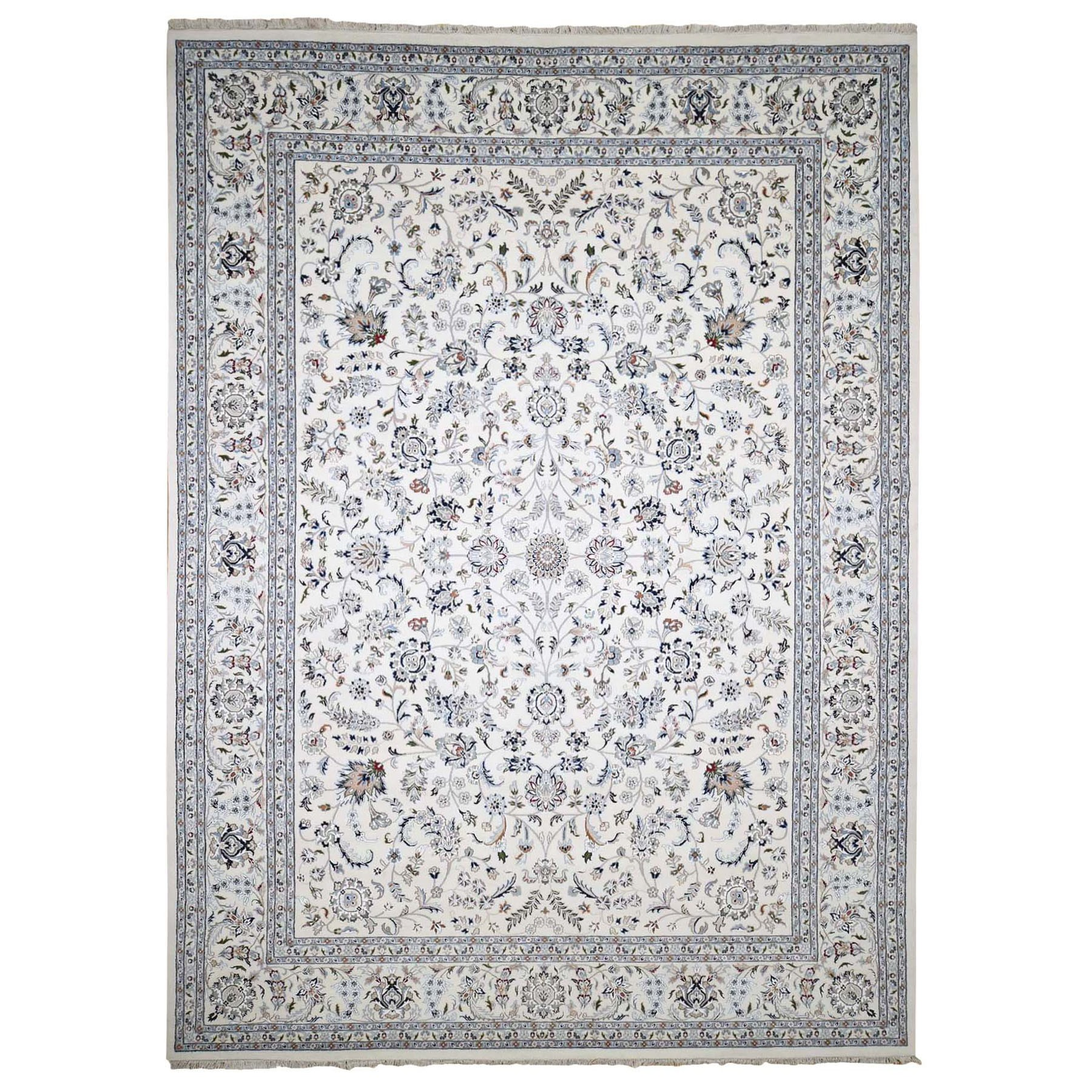 Pirniakan Collection Hand Knotted Ivory Rug No: 0197602