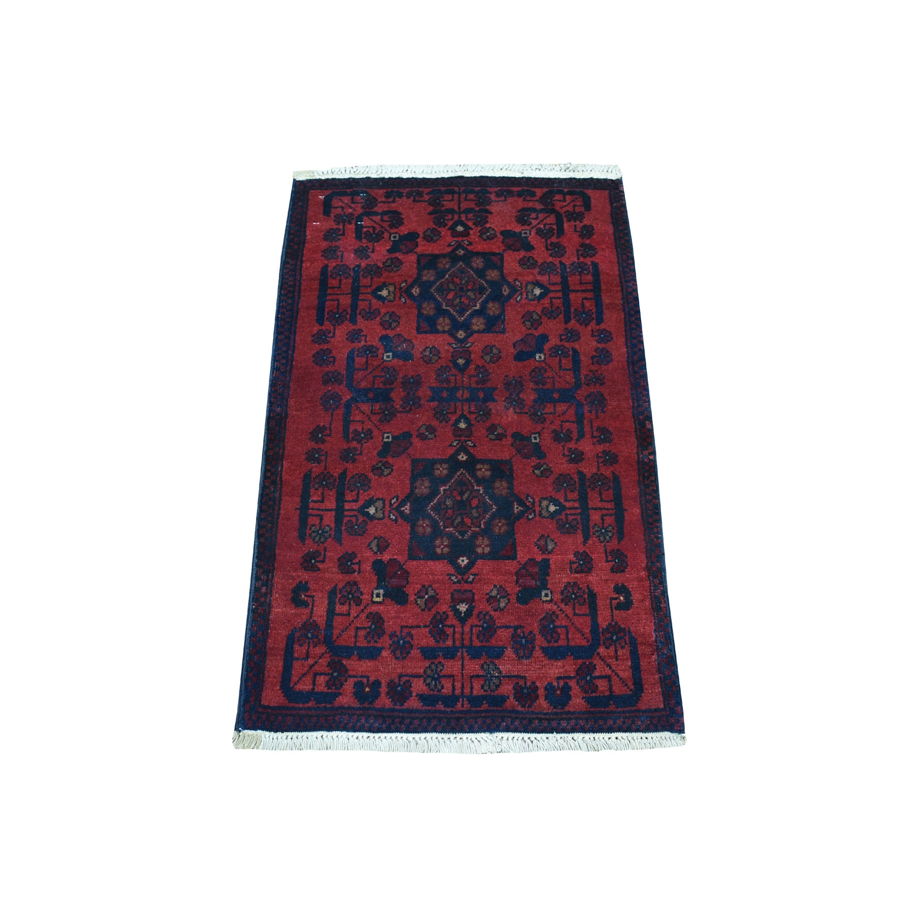 Nomadic And Village Collection Hand Knotted Red Rug No: 01107796