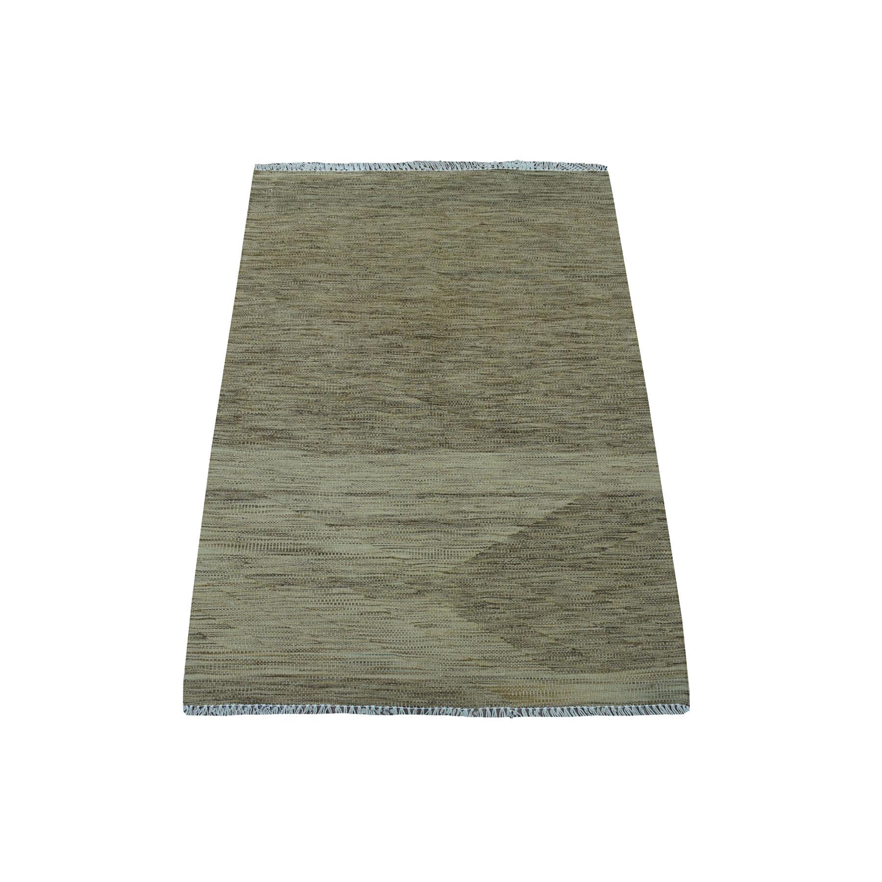 Fine Kilim Collection Hand Woven Grey Rug No: 01107672