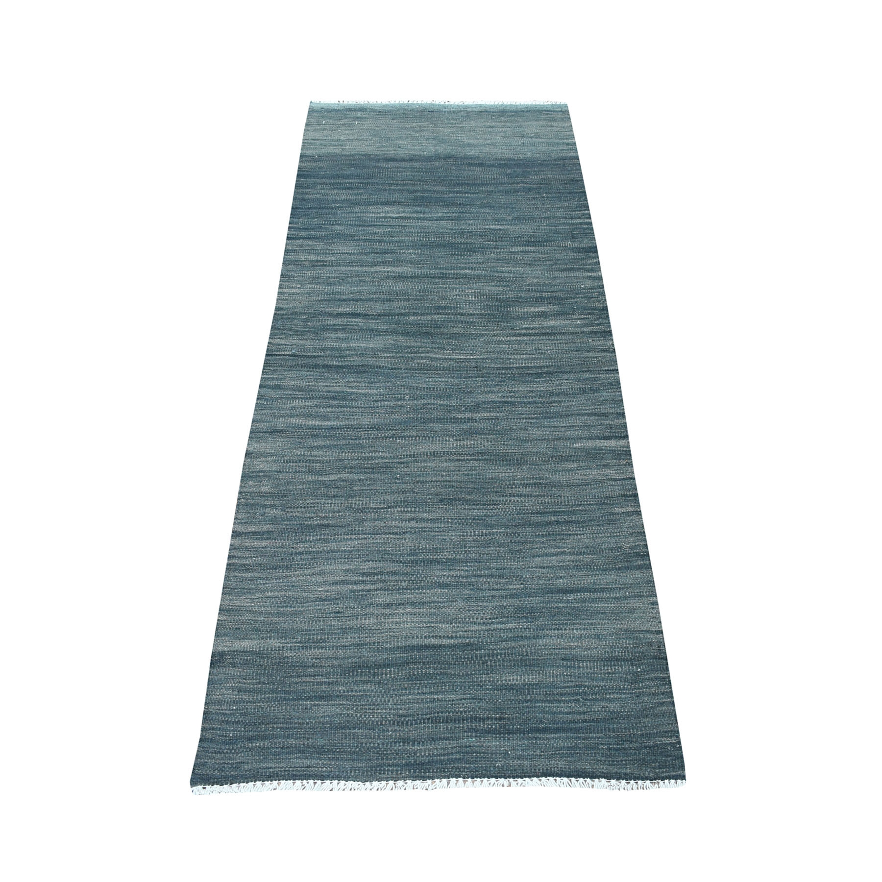 Fine Kilim Collection Hand Woven Grey Rug No: 01107686