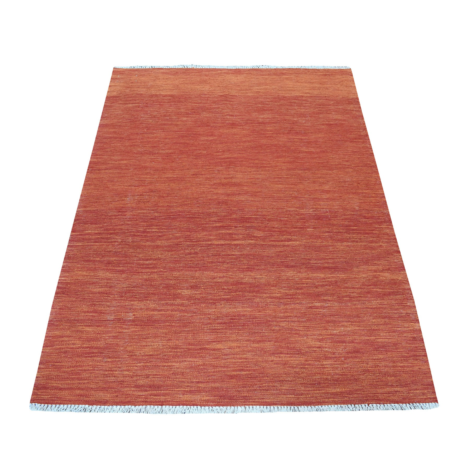 Fine Kilim Collection Hand Woven Red Rug No: 01108464