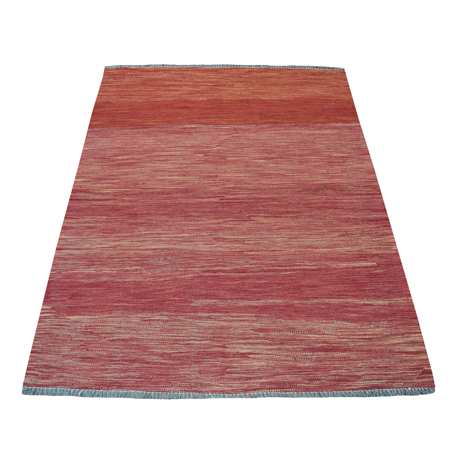 Fine Kilim Collection Hand Woven Red Rug No: 01108456