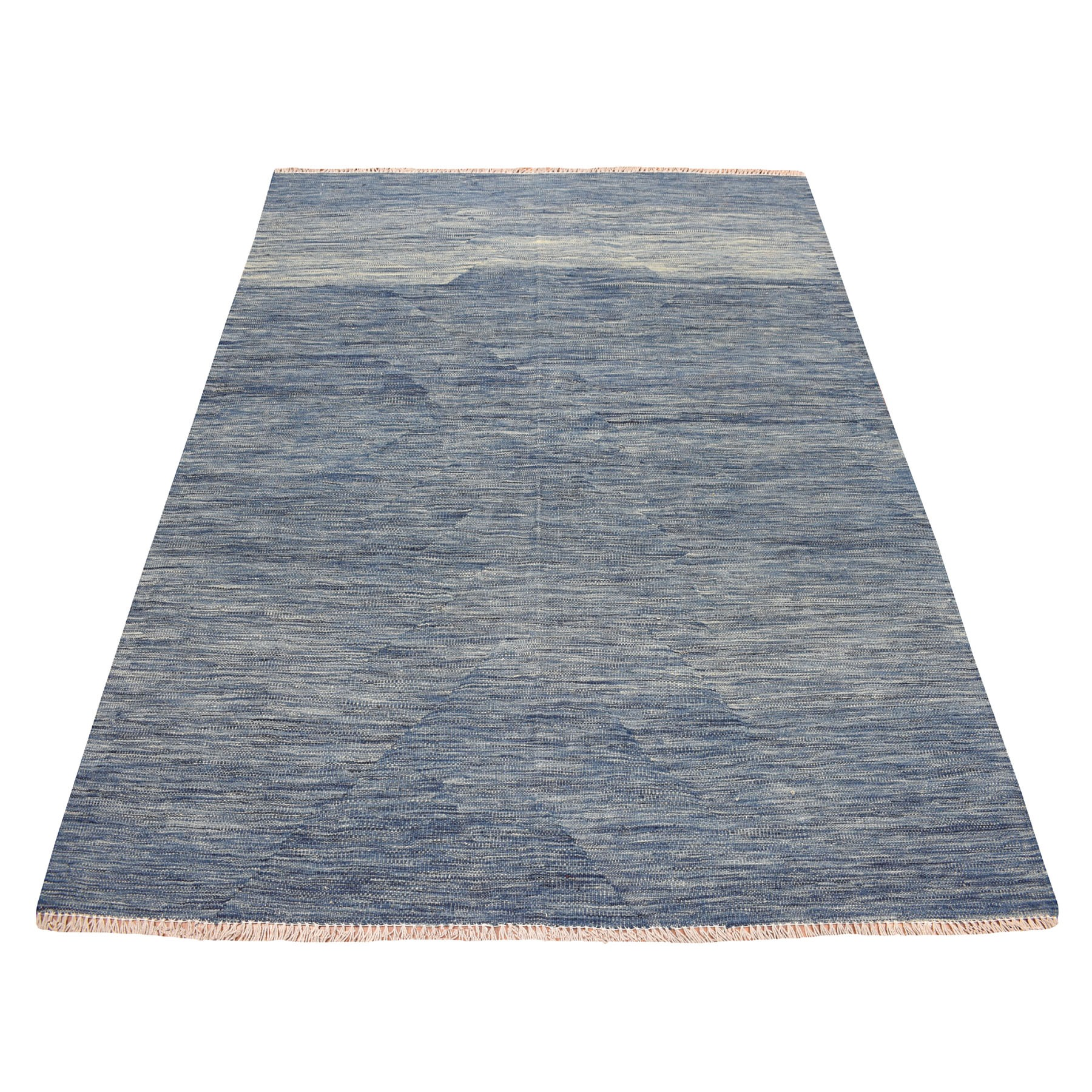 Fine Kilim Collection Hand Woven Blue Rug No: 01108438