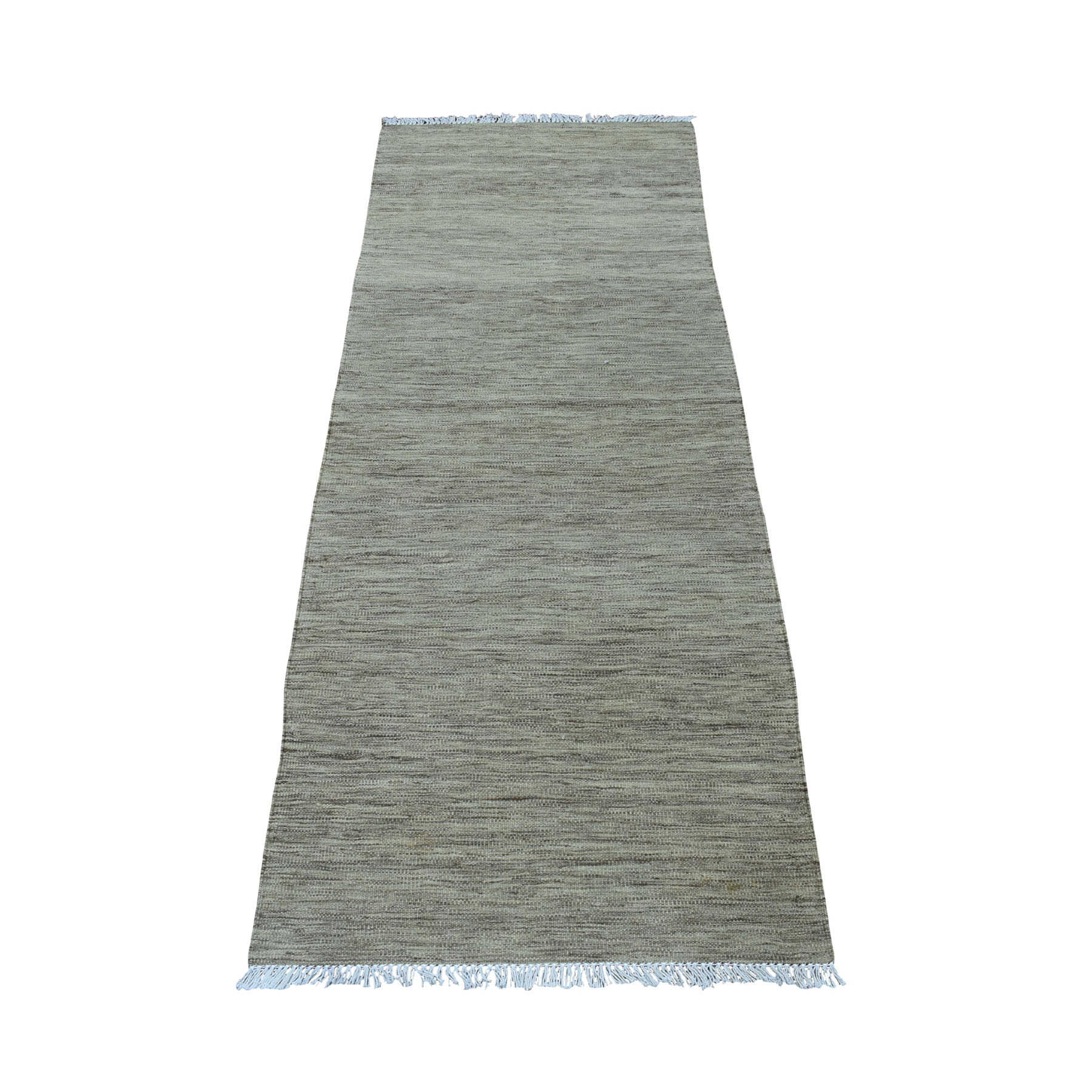 Fine Kilim Collection Hand Woven Grey Rug No: 01107754