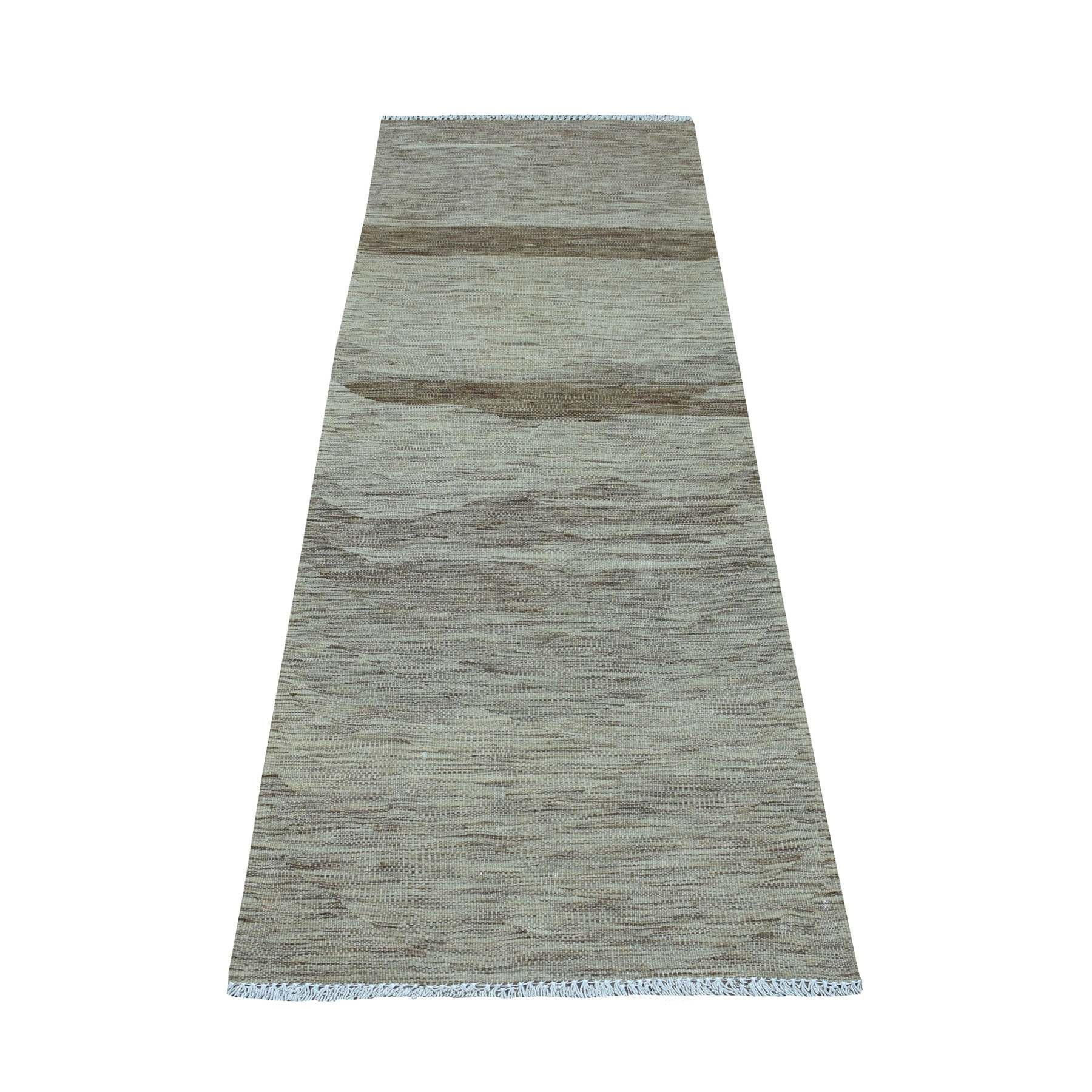 Fine Kilim Collection Hand Woven Grey Rug No: 01108502