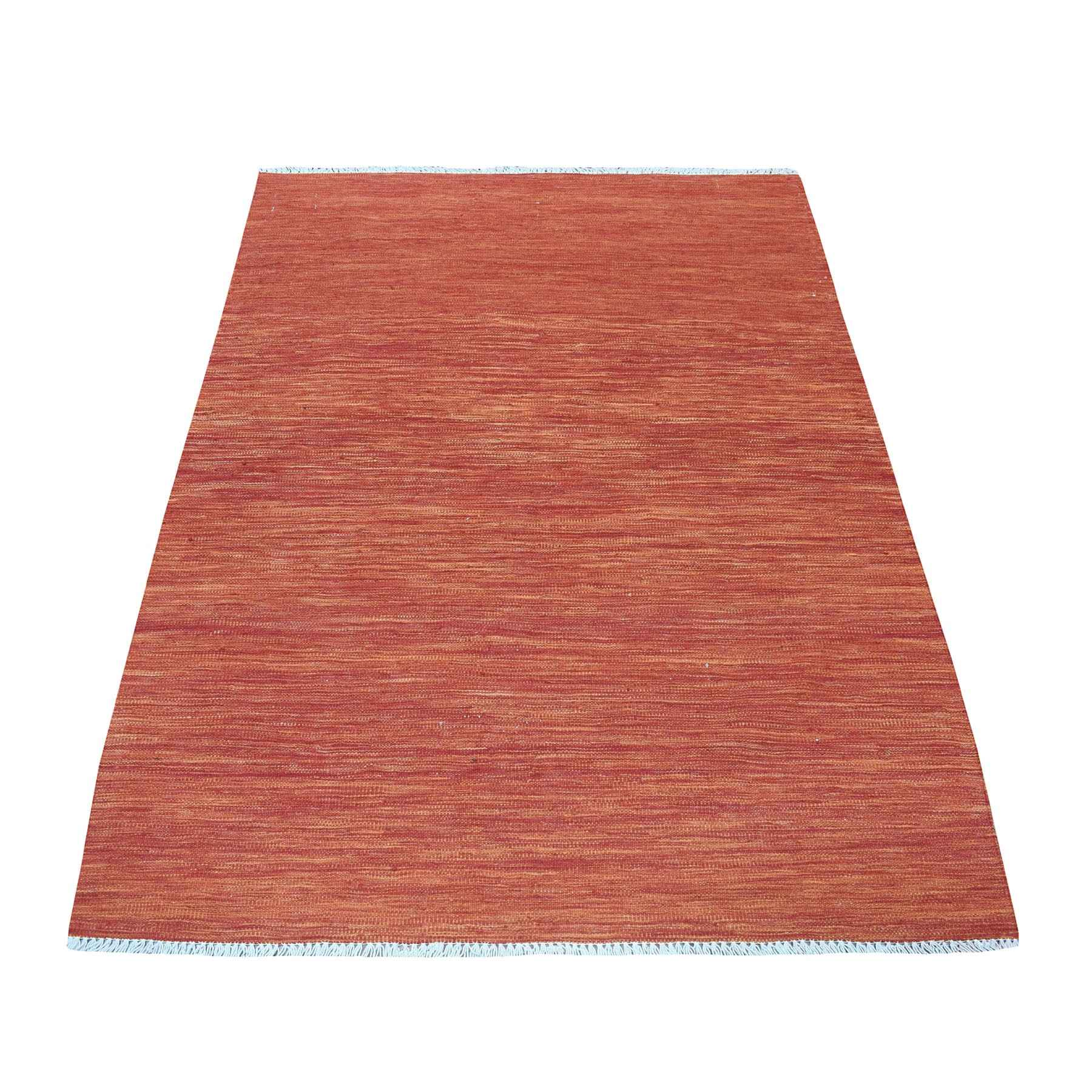 Fine Kilim Collection Hand Woven Red Rug No: 01108470