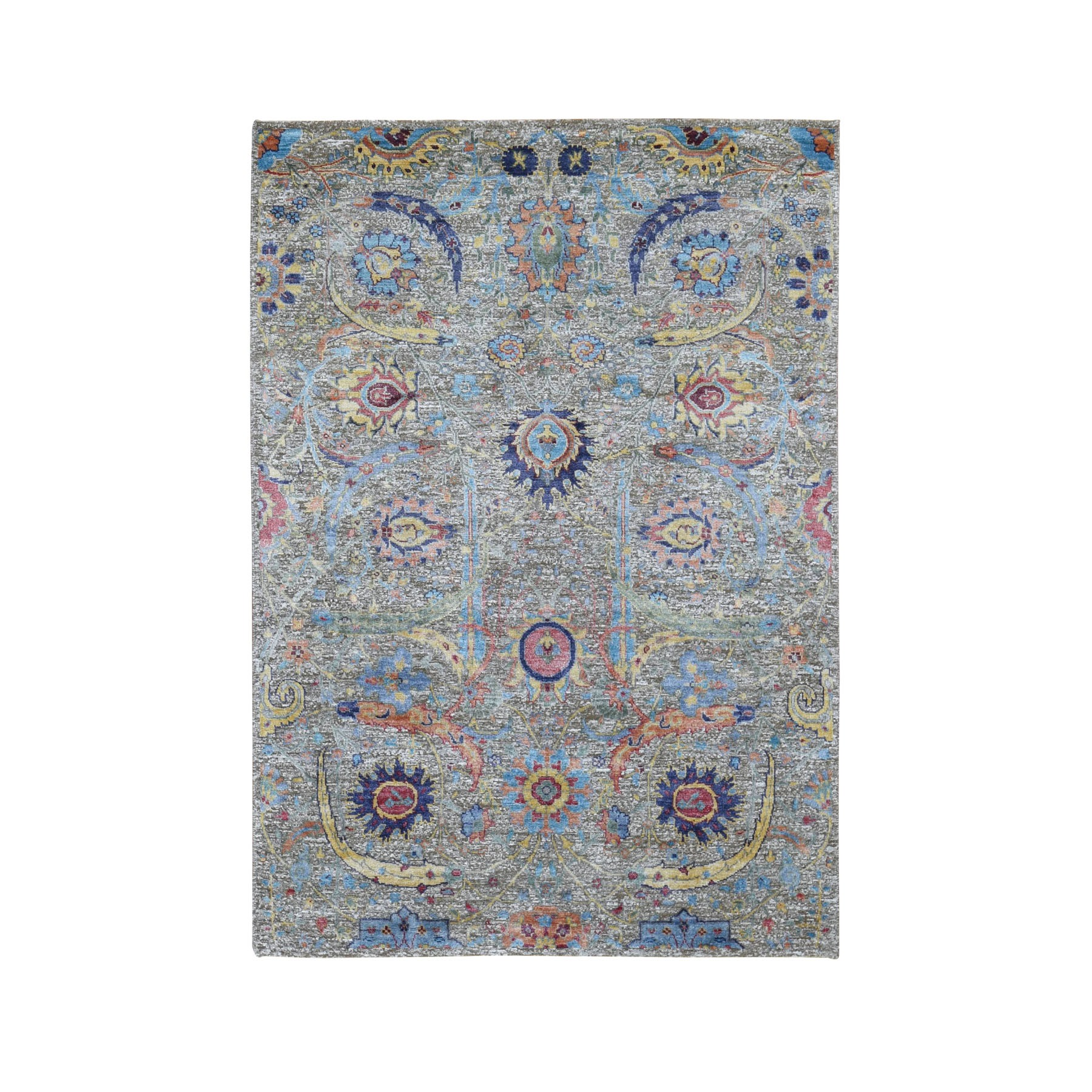 Pirniakan Collection Hand Knotted Brown Rug No: 0197810