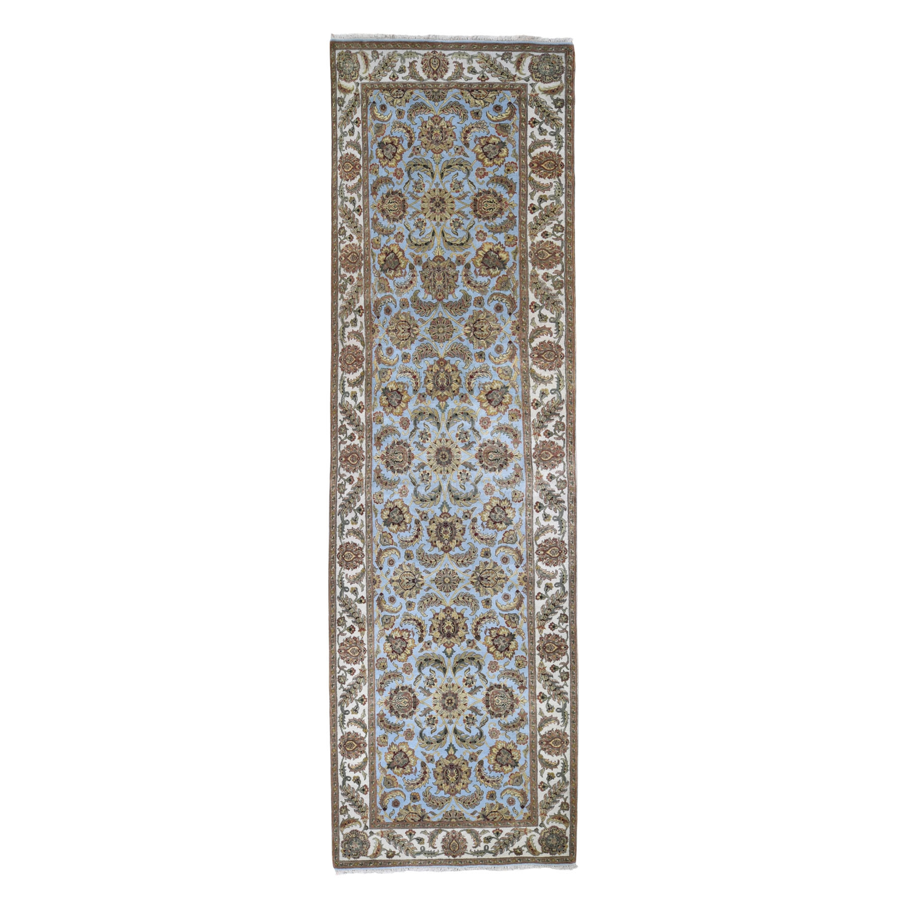 Pahlavi Collection Hand Knotted Blue Rug No: 0197874