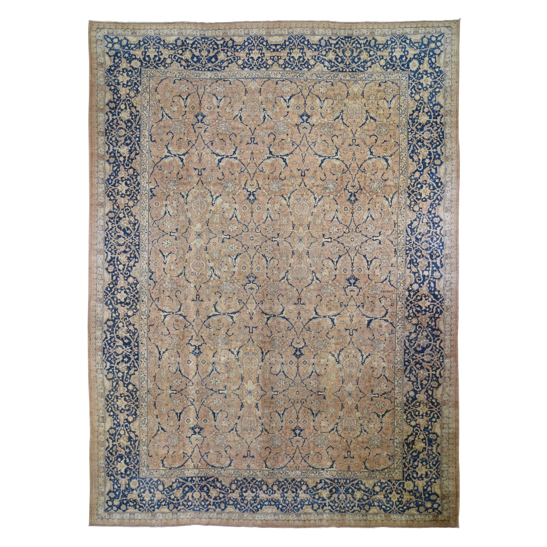 Classic Persian Collection Hand Knotted Brown Rug No: 0197968