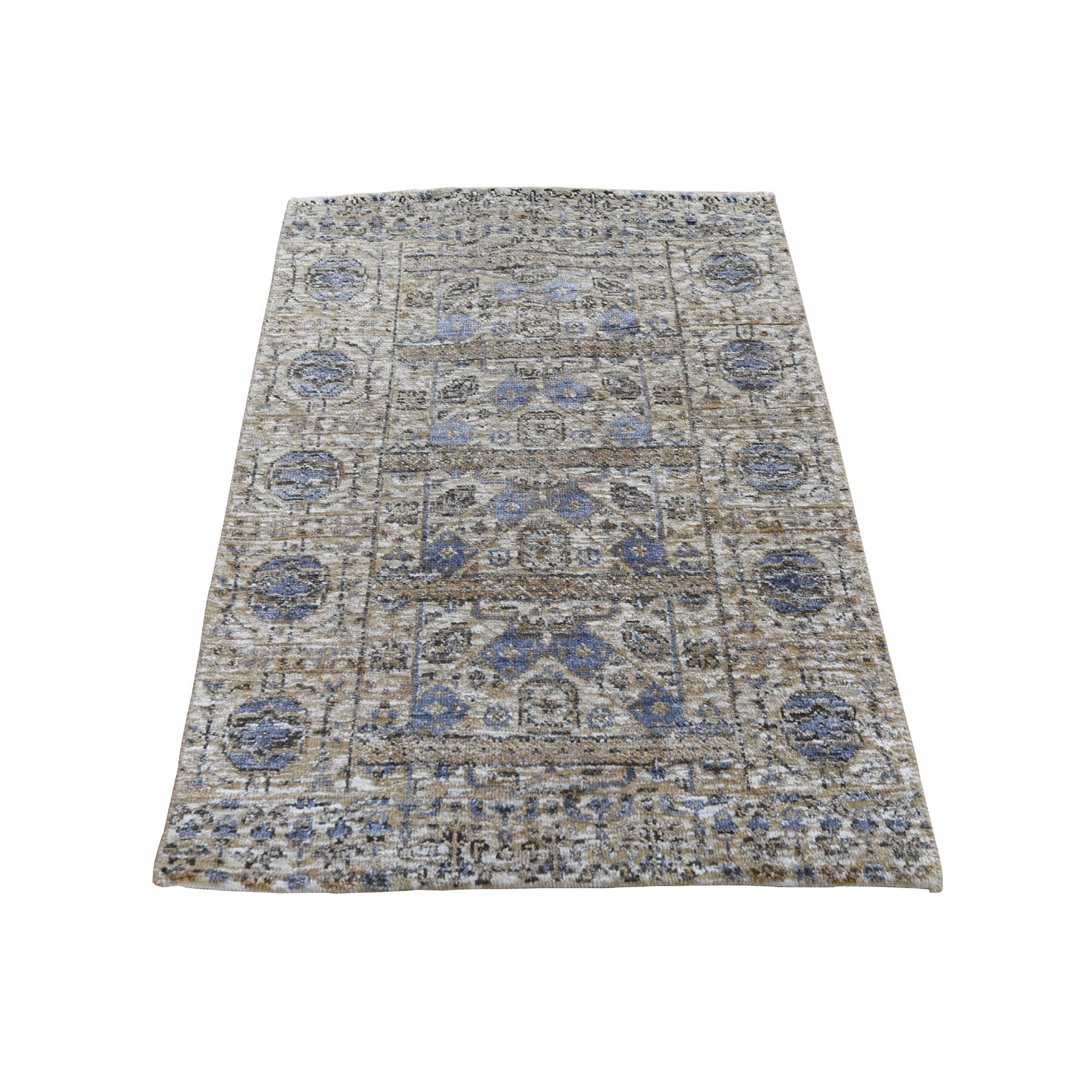 Intricate Collection Hand Knotted Beige Rug No: 197978
