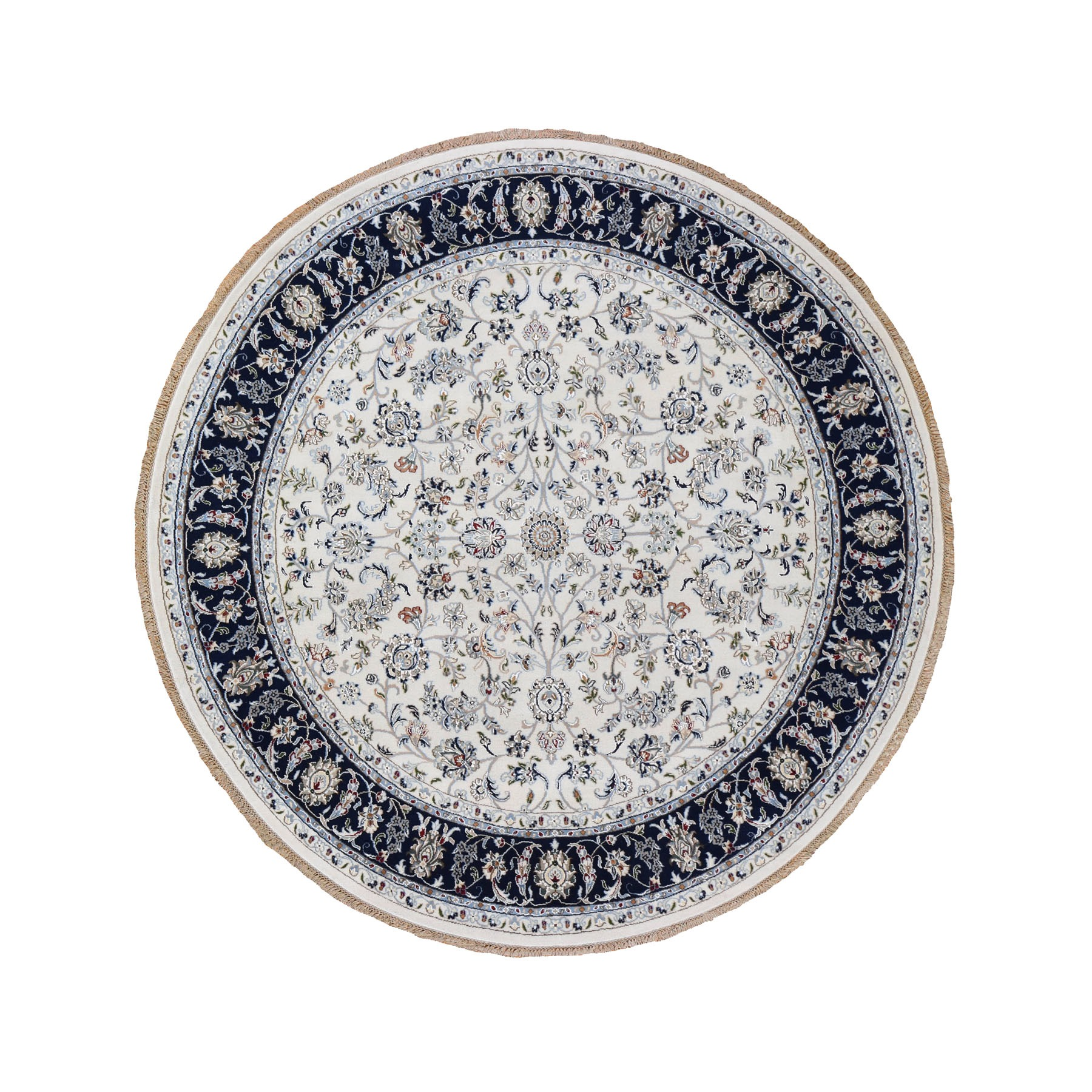 Pirniakan Collection Hand Knotted Ivory Rug No: 0198044