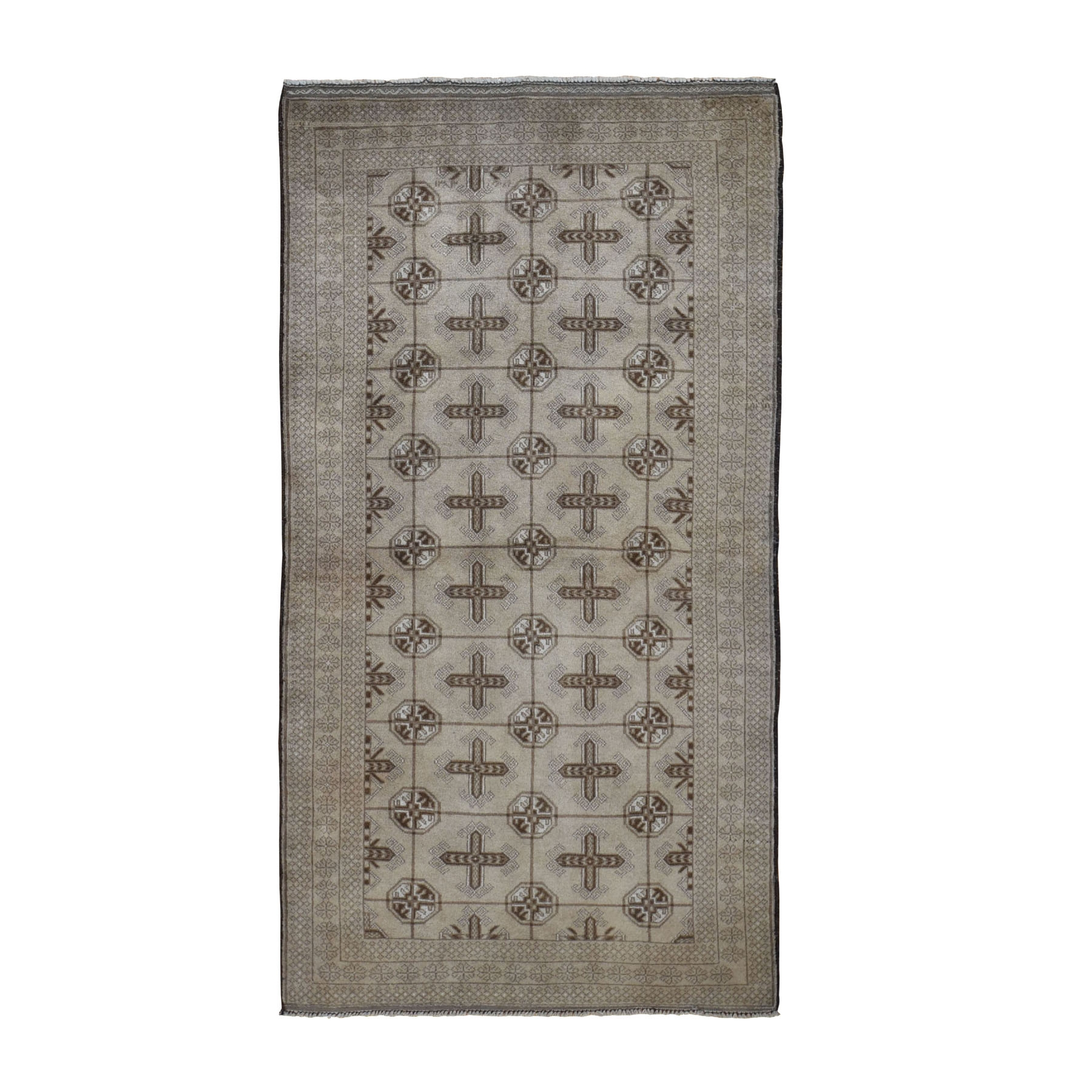 Nomadic And Village Collection Hand Knotted Brown Rug No: 0198068