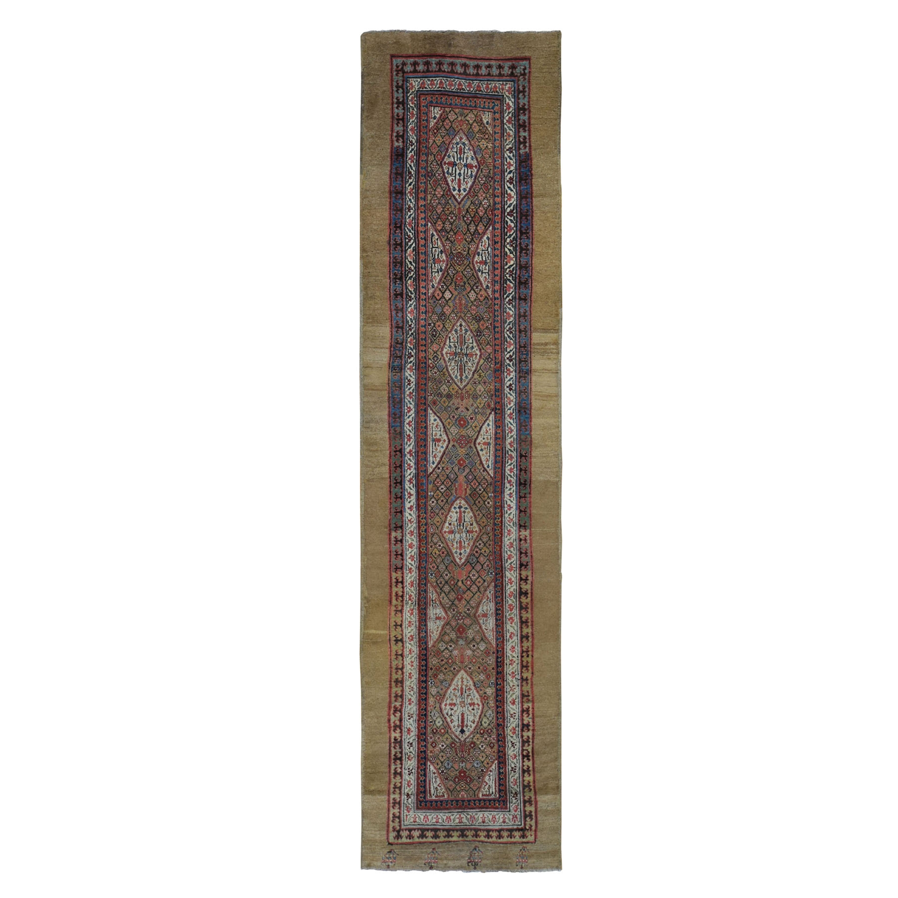 Antique Collection Hand Knotted Brown Rug No: 0198100